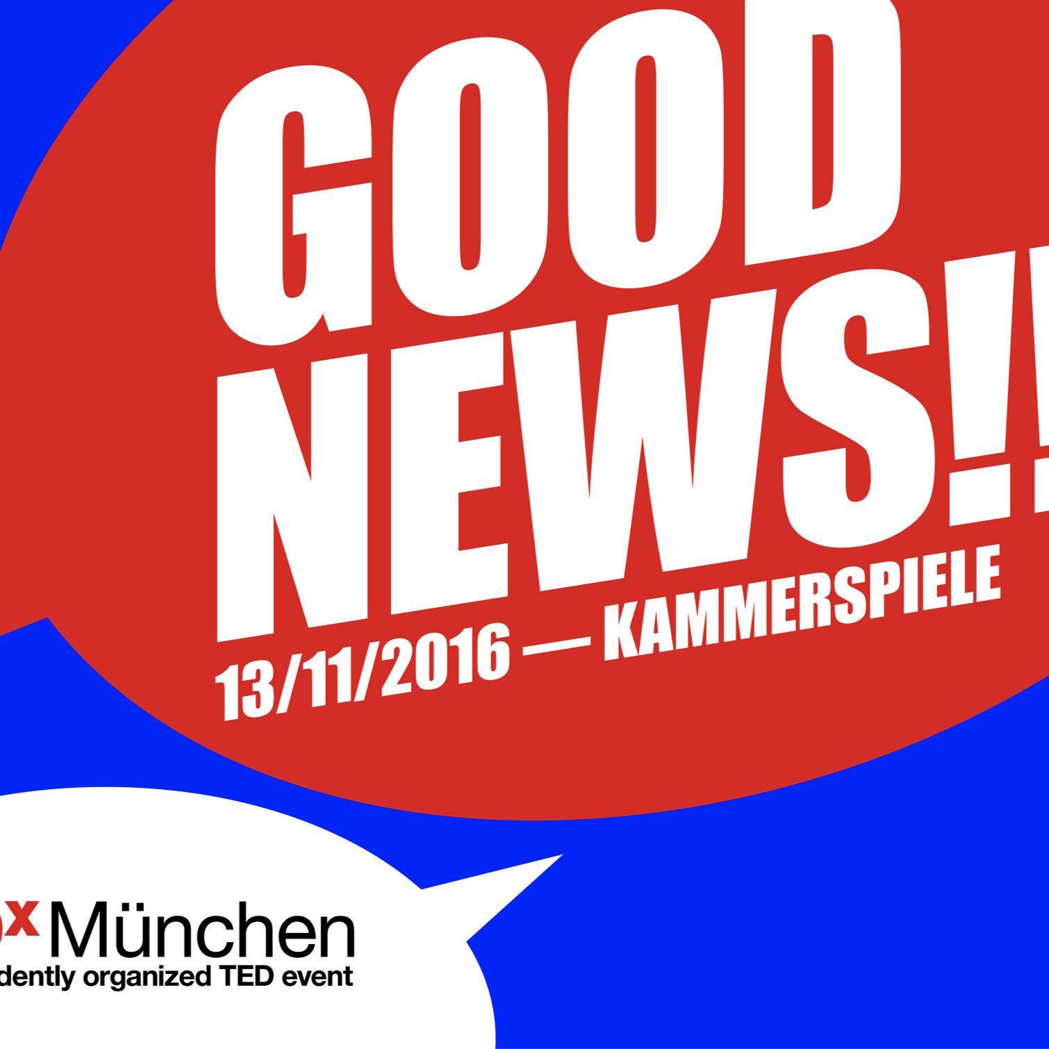 2016 - GOOD NEWS!