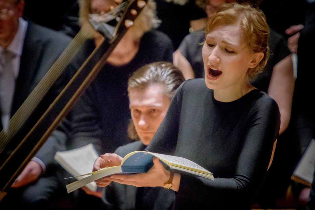 """J. S. Bach - """"Matthäus-Passion"""" - Gerhard Oppelt, Berlin Barock - Berliner Philharmonie © Stephan Röhl"""