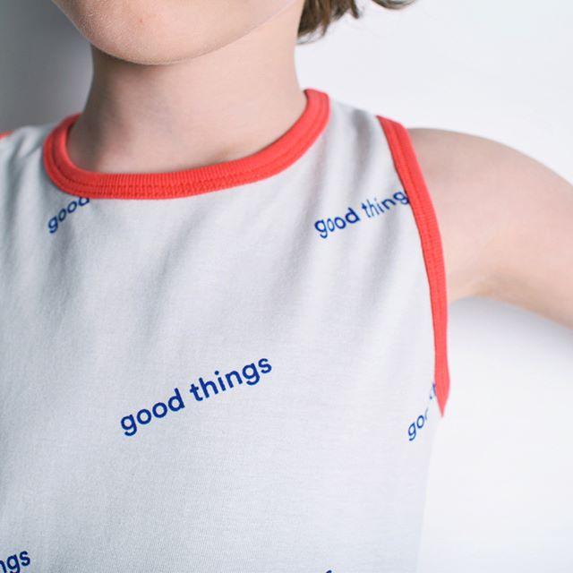 Good things vest.  #minimalistkidsclothes #minimalpattern #minimalistkidswear #minimalistkidsclothes #minimalistclothes #childrentshirt #timelesskids #londonclothes