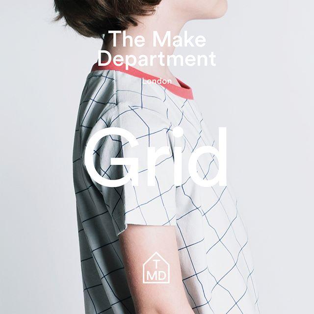 Grid t-shirt.