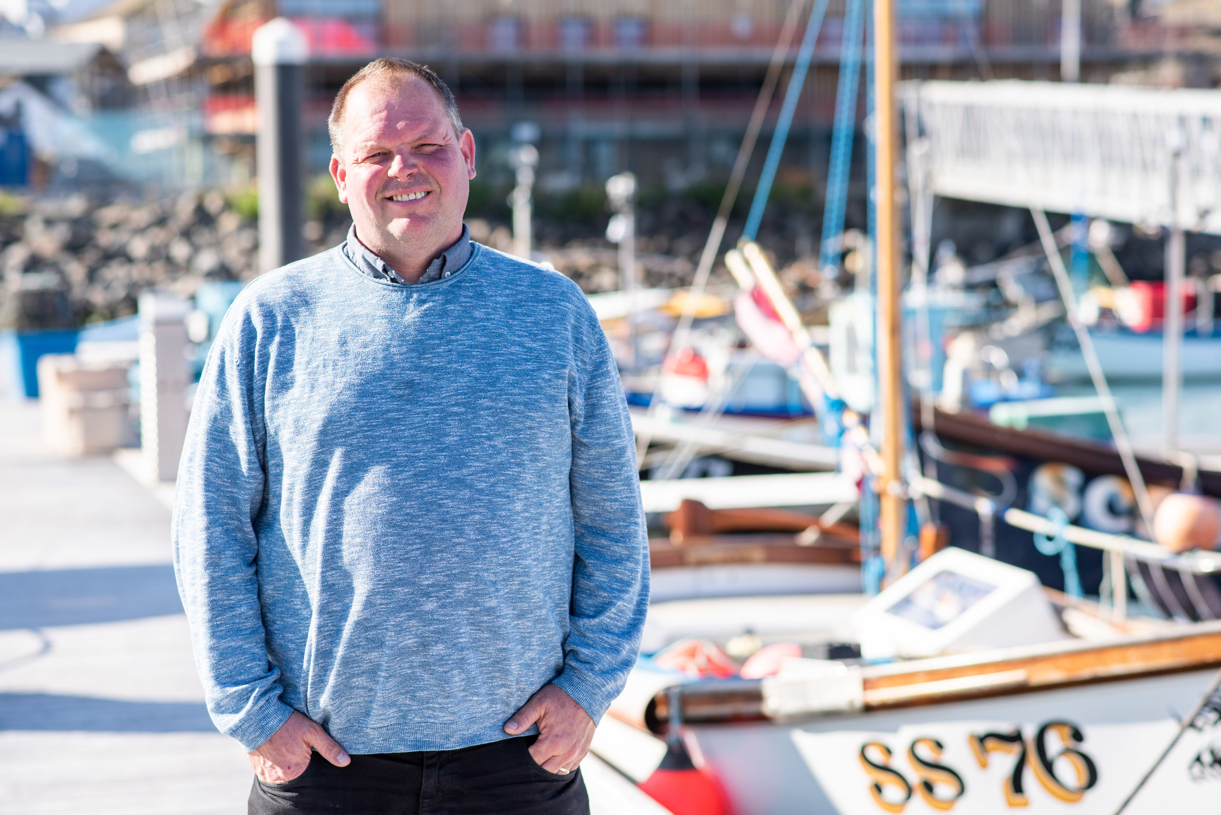 Meet Clive - Seafood Cornwall Training is running a new project working with fishermen on all aspects of sea safety. Clive Palfrey has joined the SCT Team as Safety Adviser to work closely with fishermen throughout Cornwall with the aim to improve safety knowledge and share good practice and solutions. Funding to deliver this project is thanks to Seafarers UK, and EU Funding through Cornwall & Isles of Scilly FLAG.Find out more here.