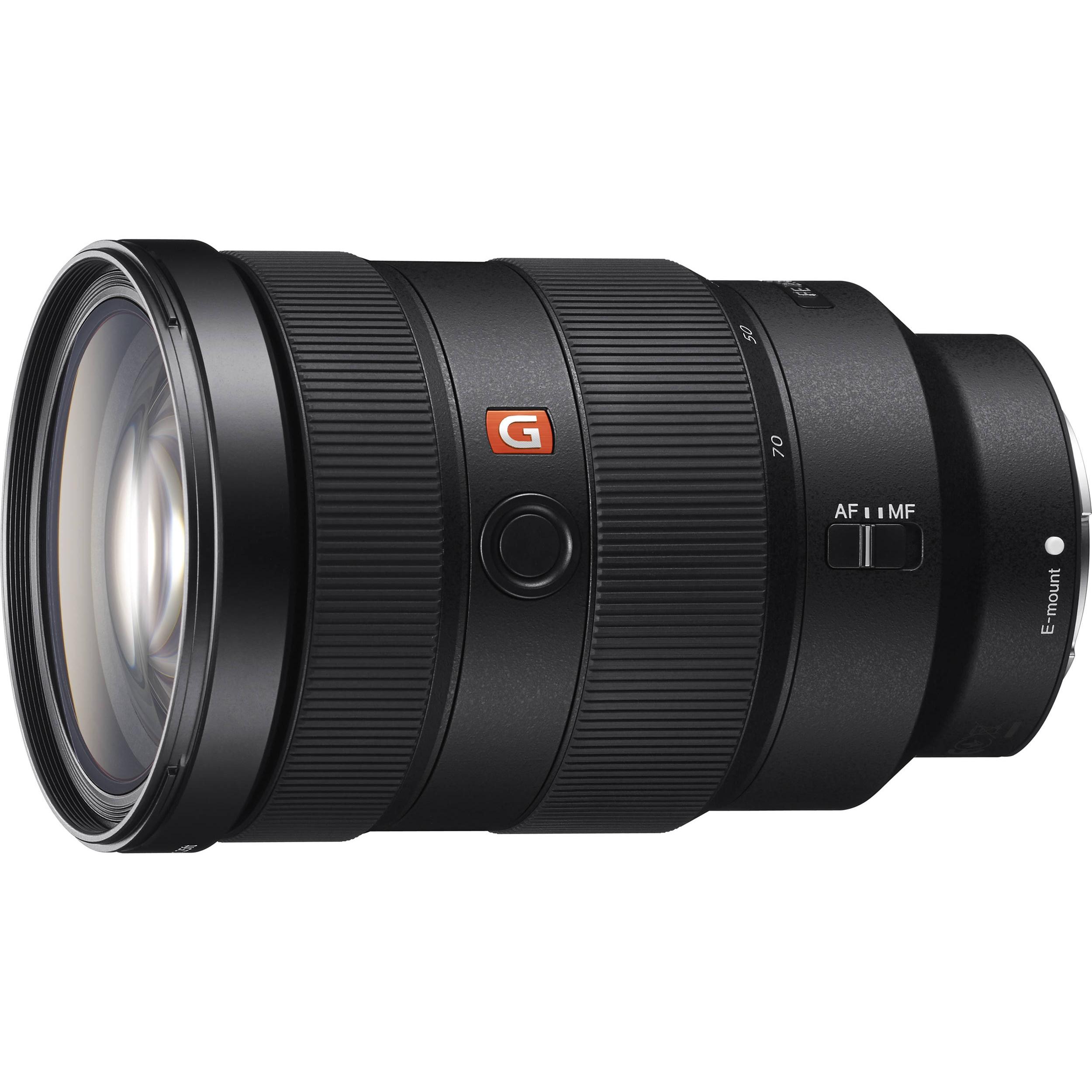Sony FE 24-70mm f2.8 GM   - E-mount Full Frame format - G Master Standard zoom - Unprecedented resolution and detail