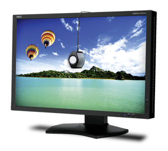 """NEC PA242 Wide Gamut 24"""" Monitor   - 10 bit Display from 14 bit LUT - 99% Adobe RGB Colorspace - 1920 x 1200 native resolution - Colour Calibration Service to your Specifications available"""