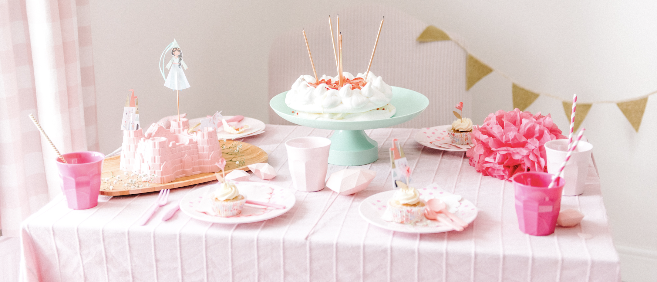 Hire Princess Party Tableware From Make It Pop