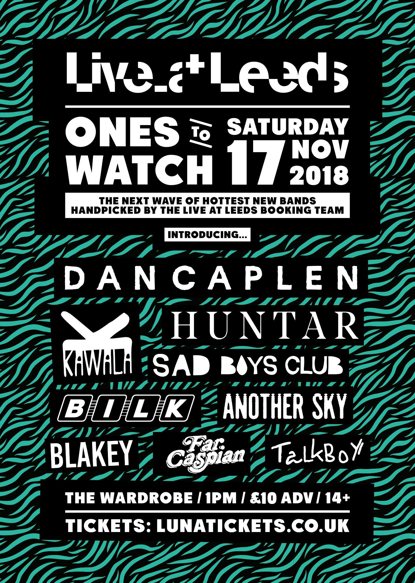 Live at Leeds Ones to Watch Nov 2018