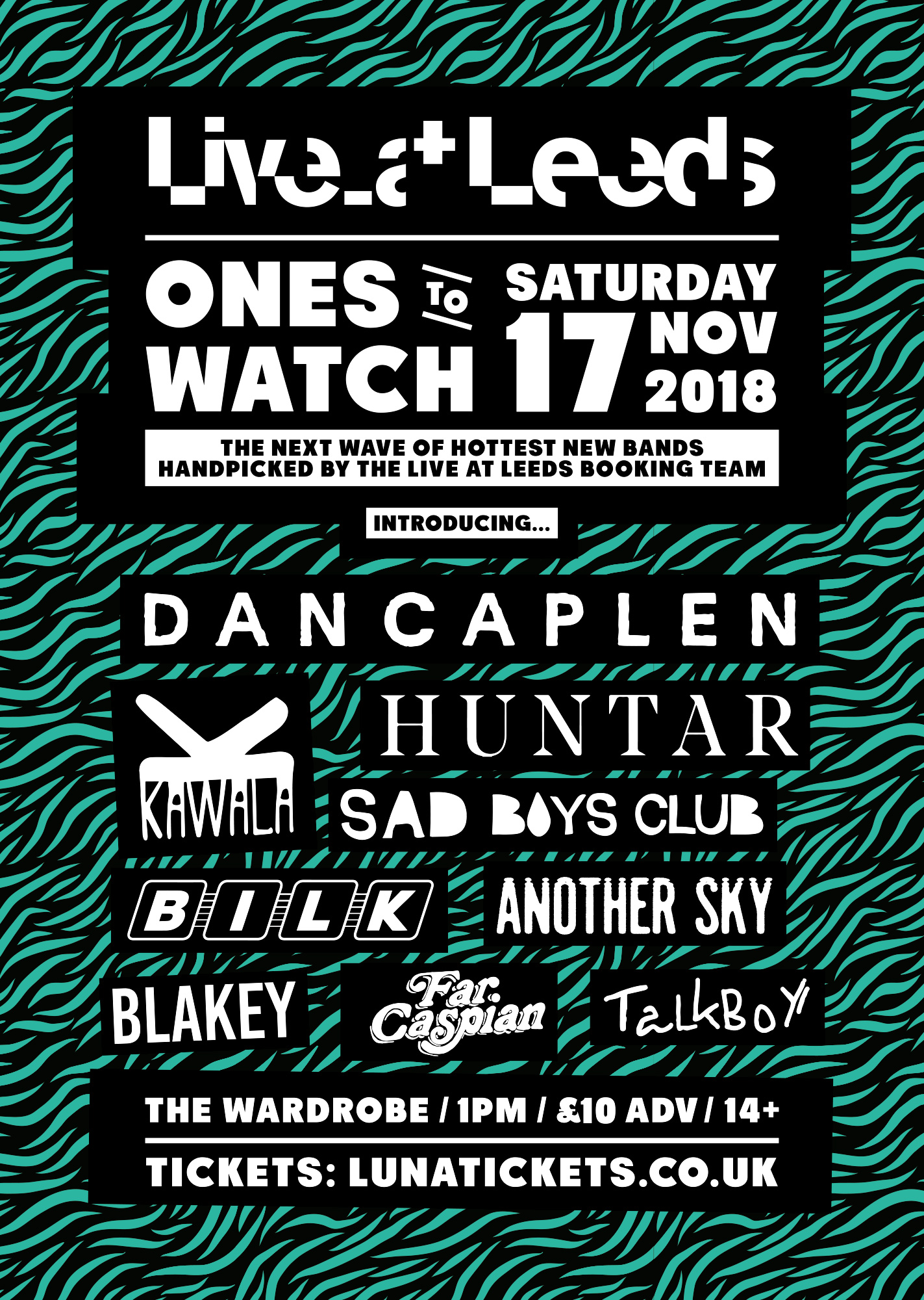 Live at Leeds Ones to Watch November 2018