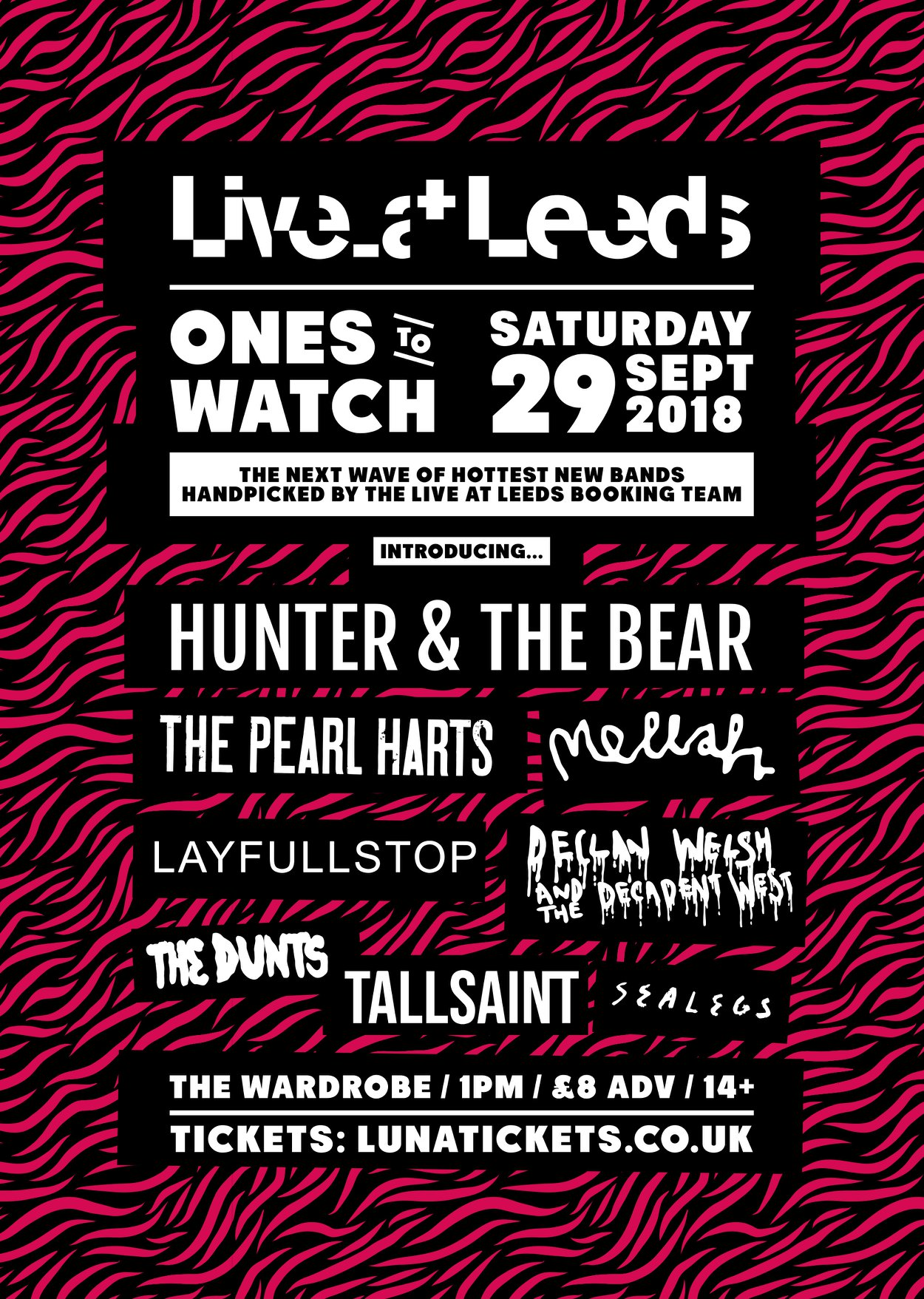 Live at Leeds Ones to Watch September 2018