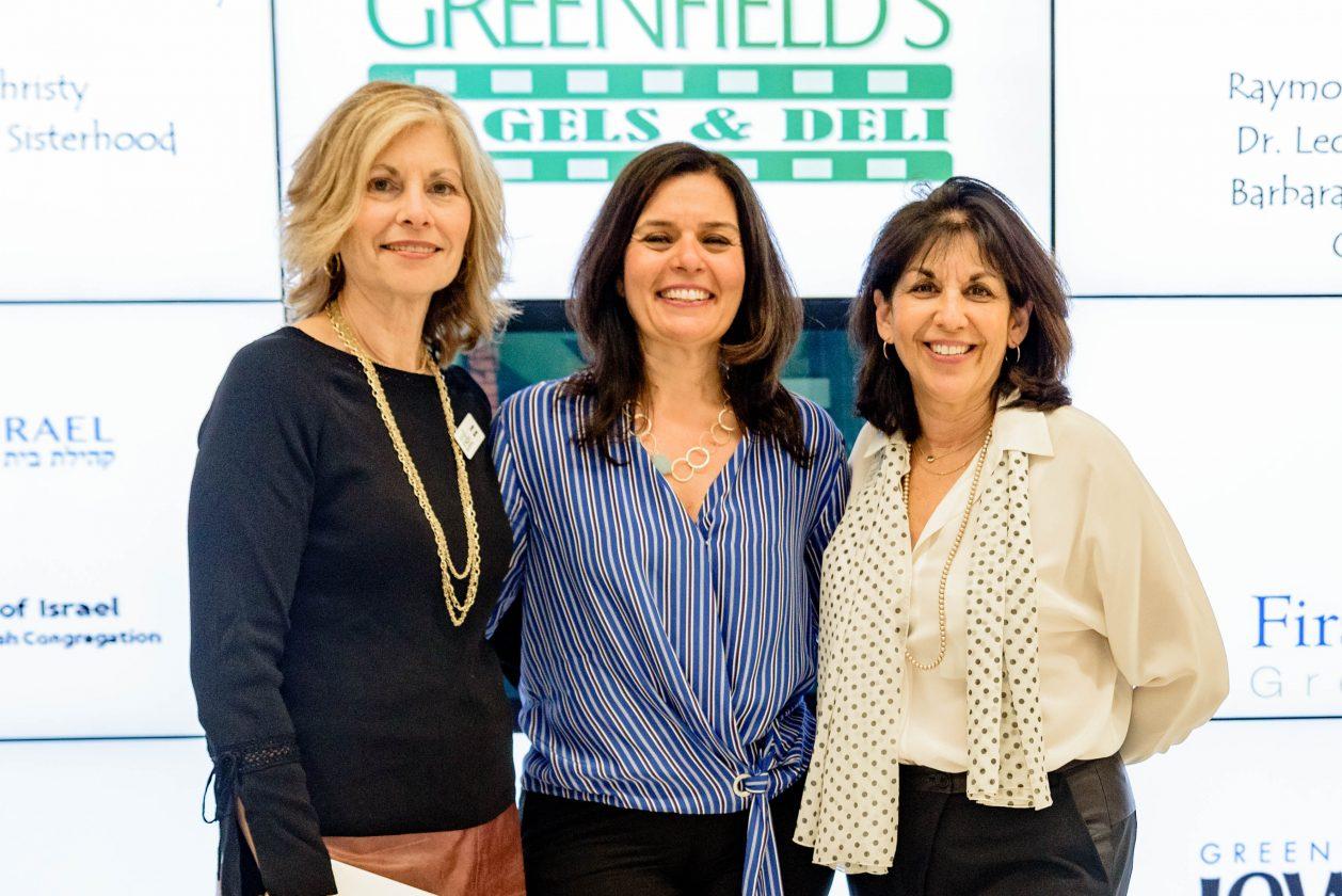 Caroline Warthen, Osnat Rosen and Helaine Meyers
