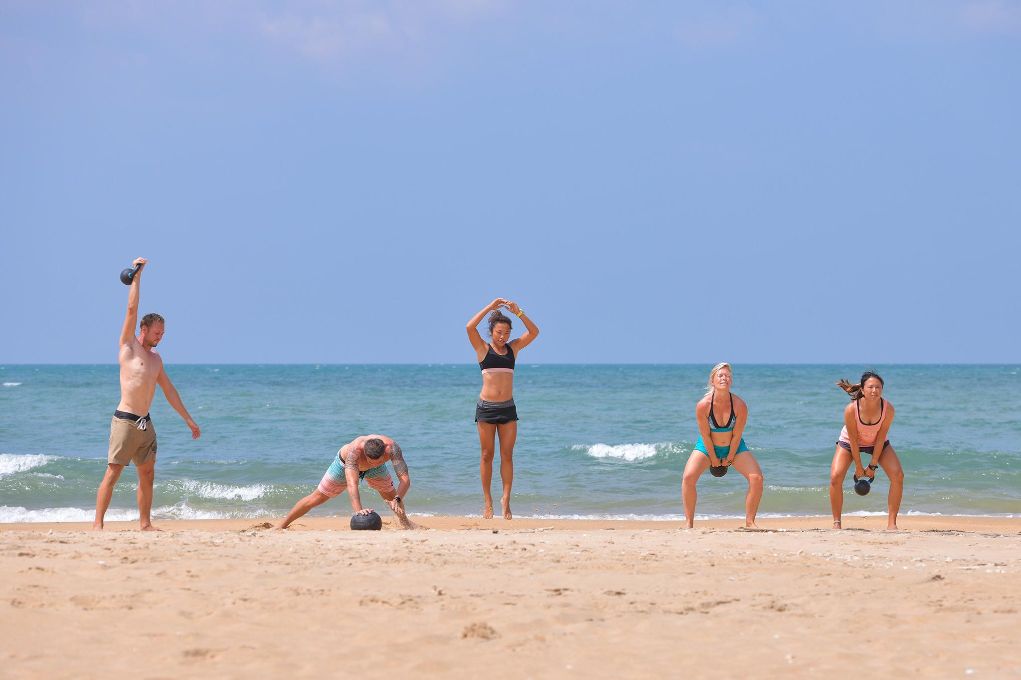 Beach Fitness Retreat
