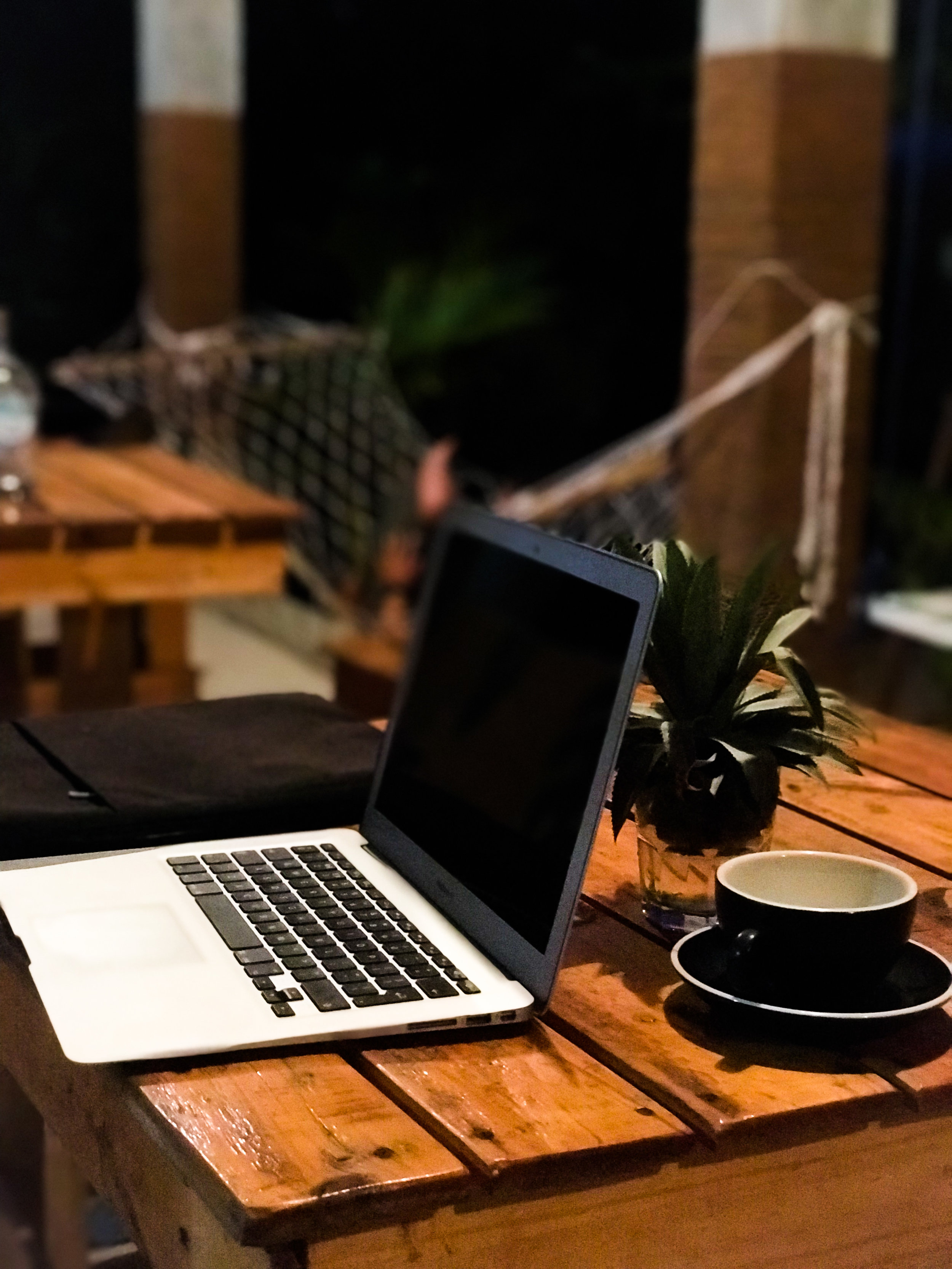 beachside coworking cafe and gym