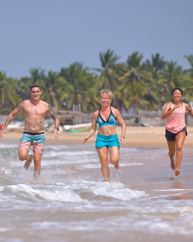 Beach Fitness Retreat Sri Lanka