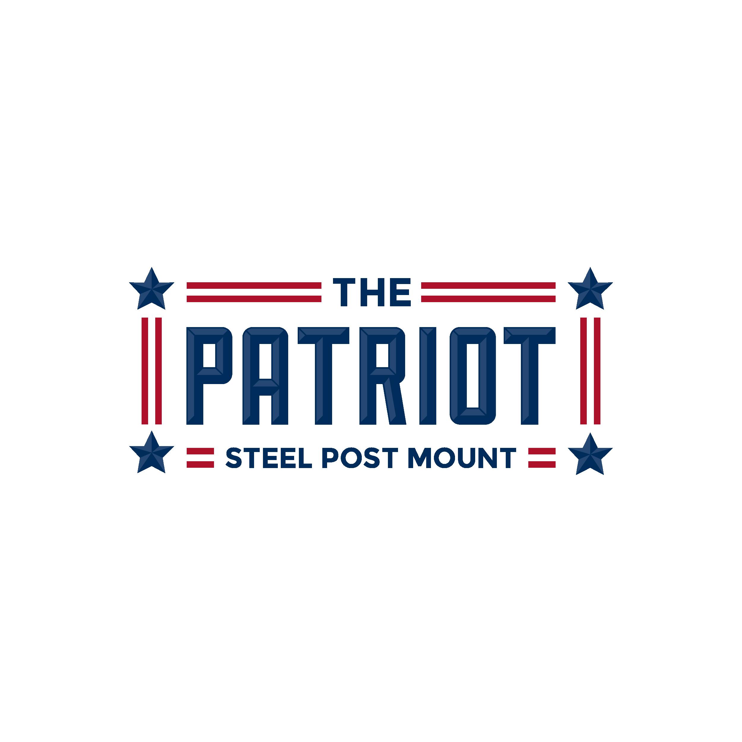 The Patriot Steel Post Mount