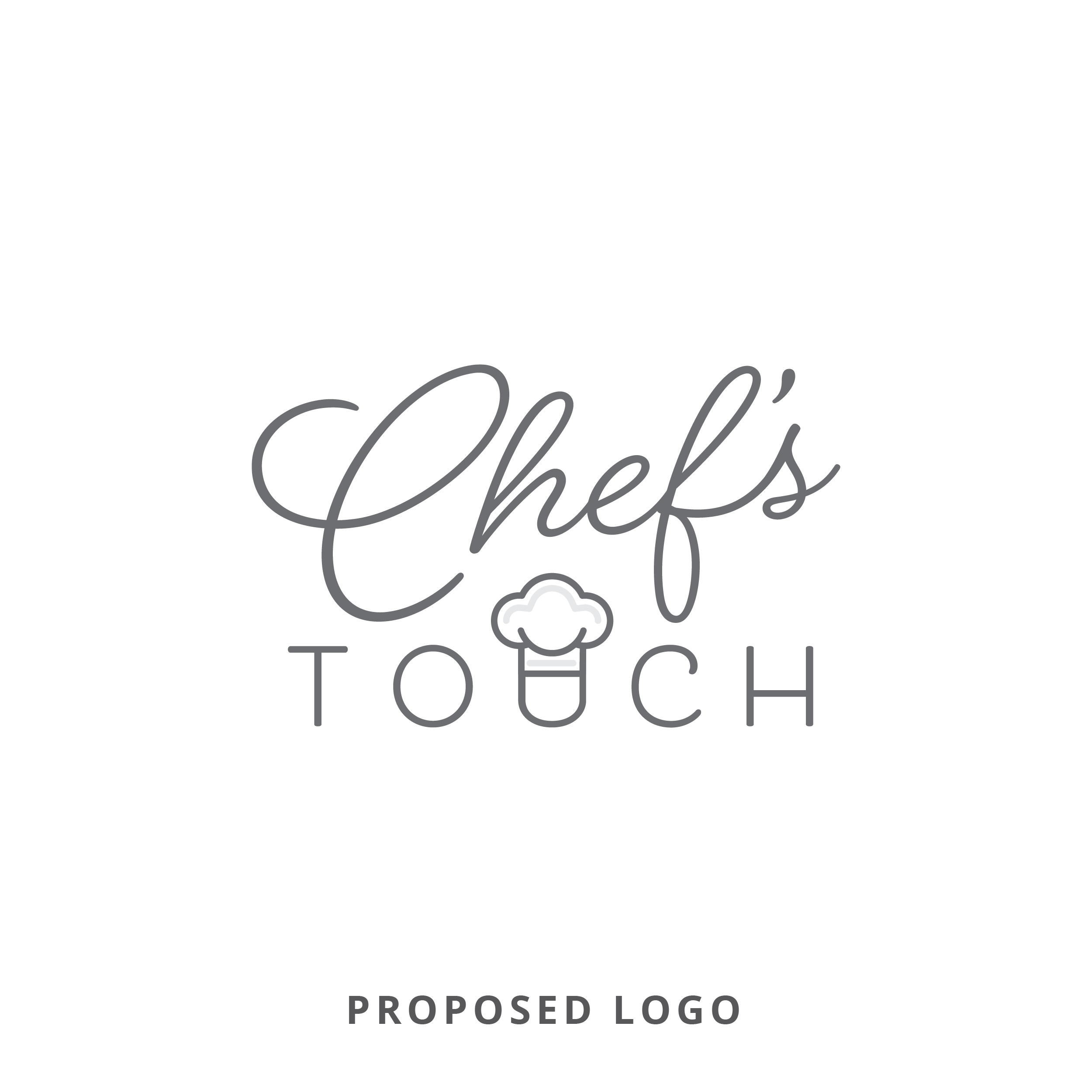Chef's Touch Proposed Logo