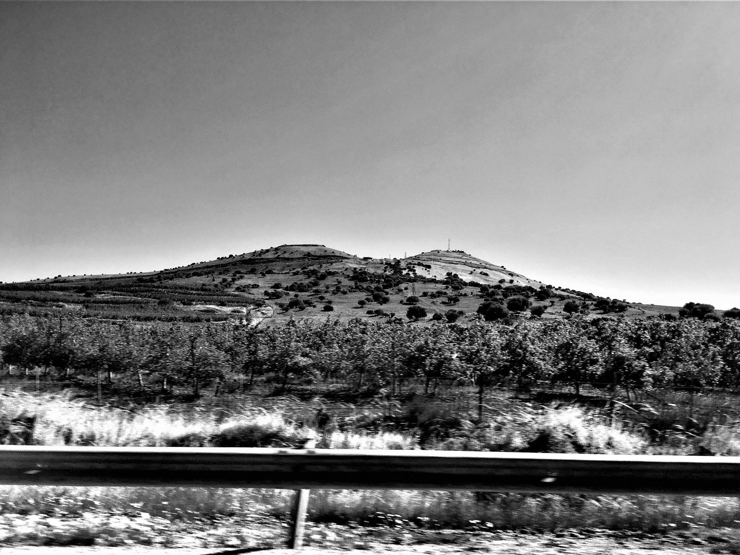 Unterwegs in den judäischen Bergen vor Jerusalem.