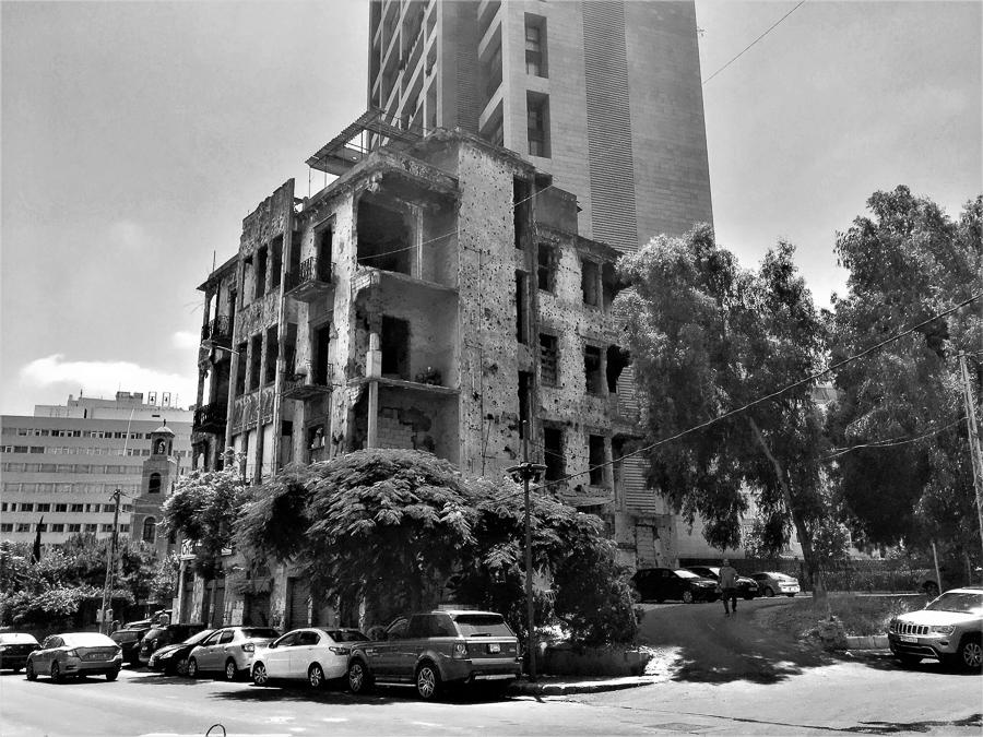 Im Zentrum von Beirut.