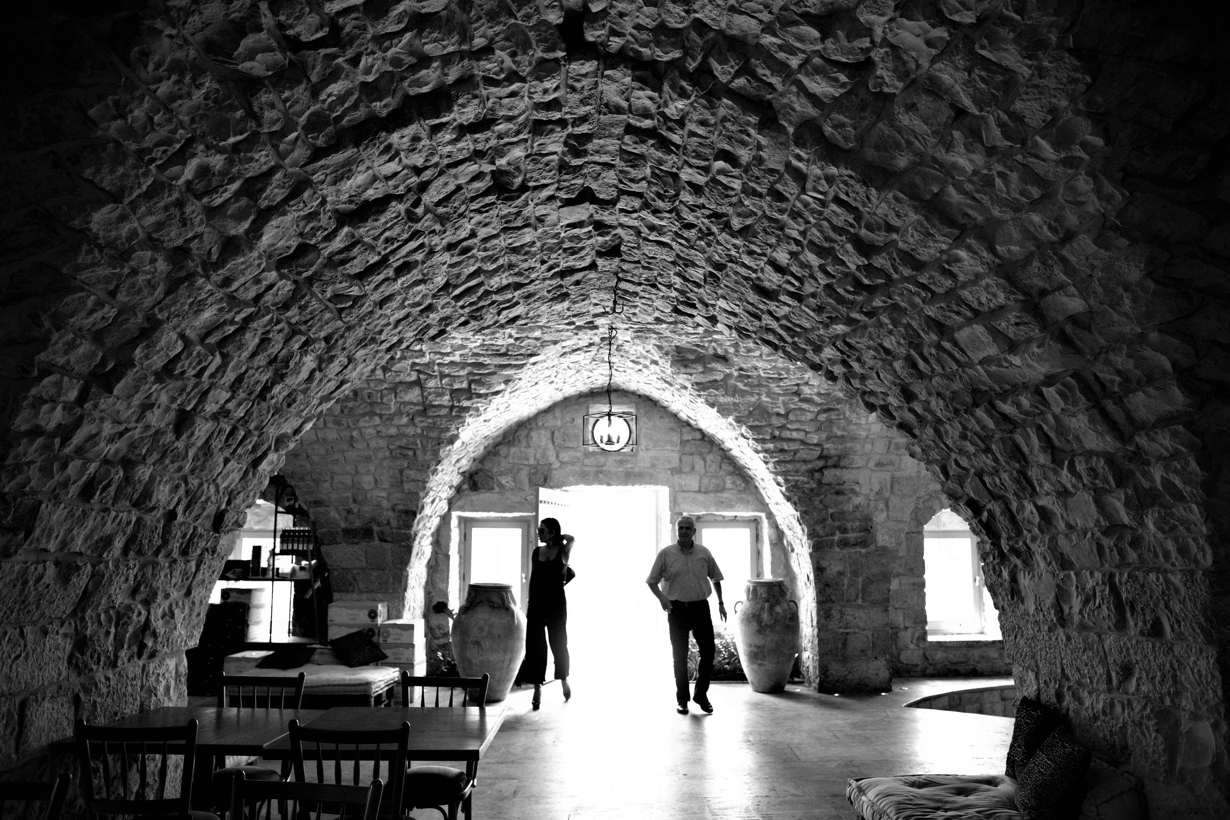 Eingangshalle Ixir Winery.
