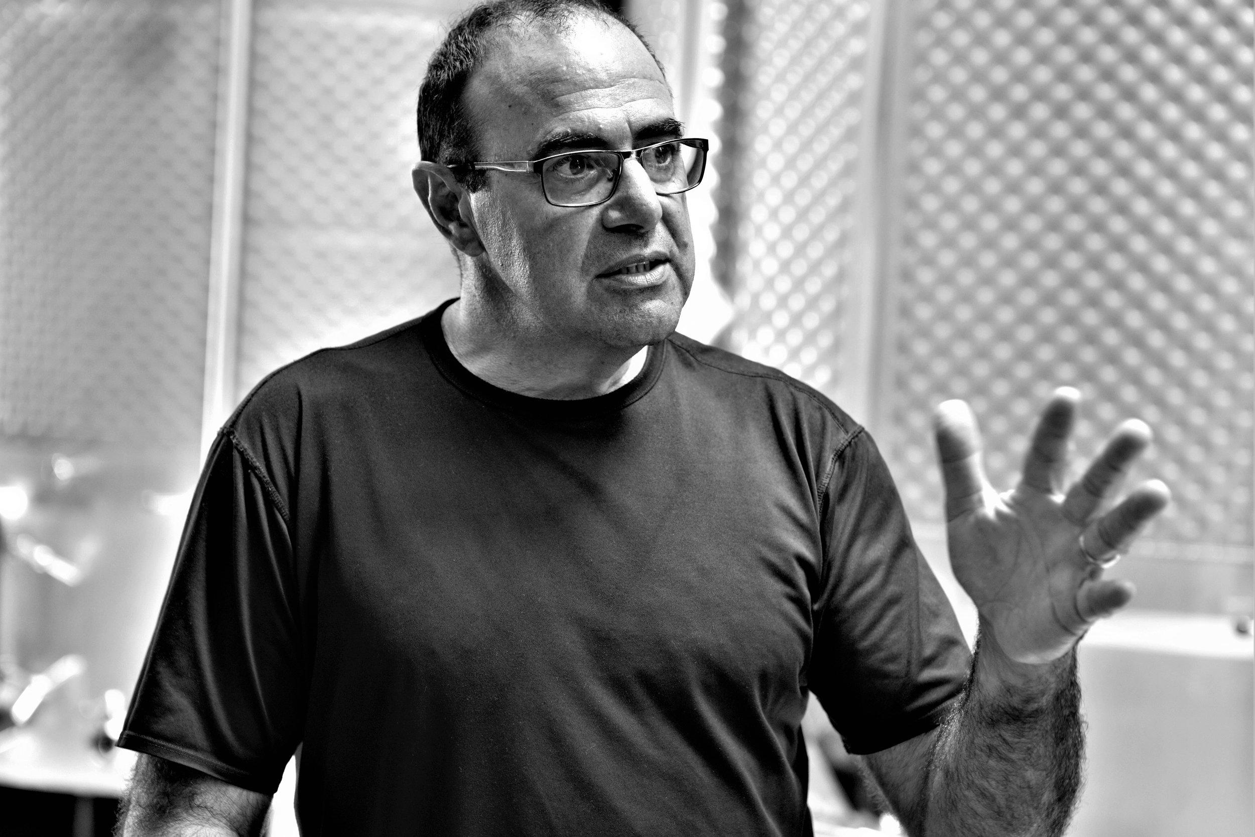 Der Winemaker von Ixir, Gabriel Rivero.