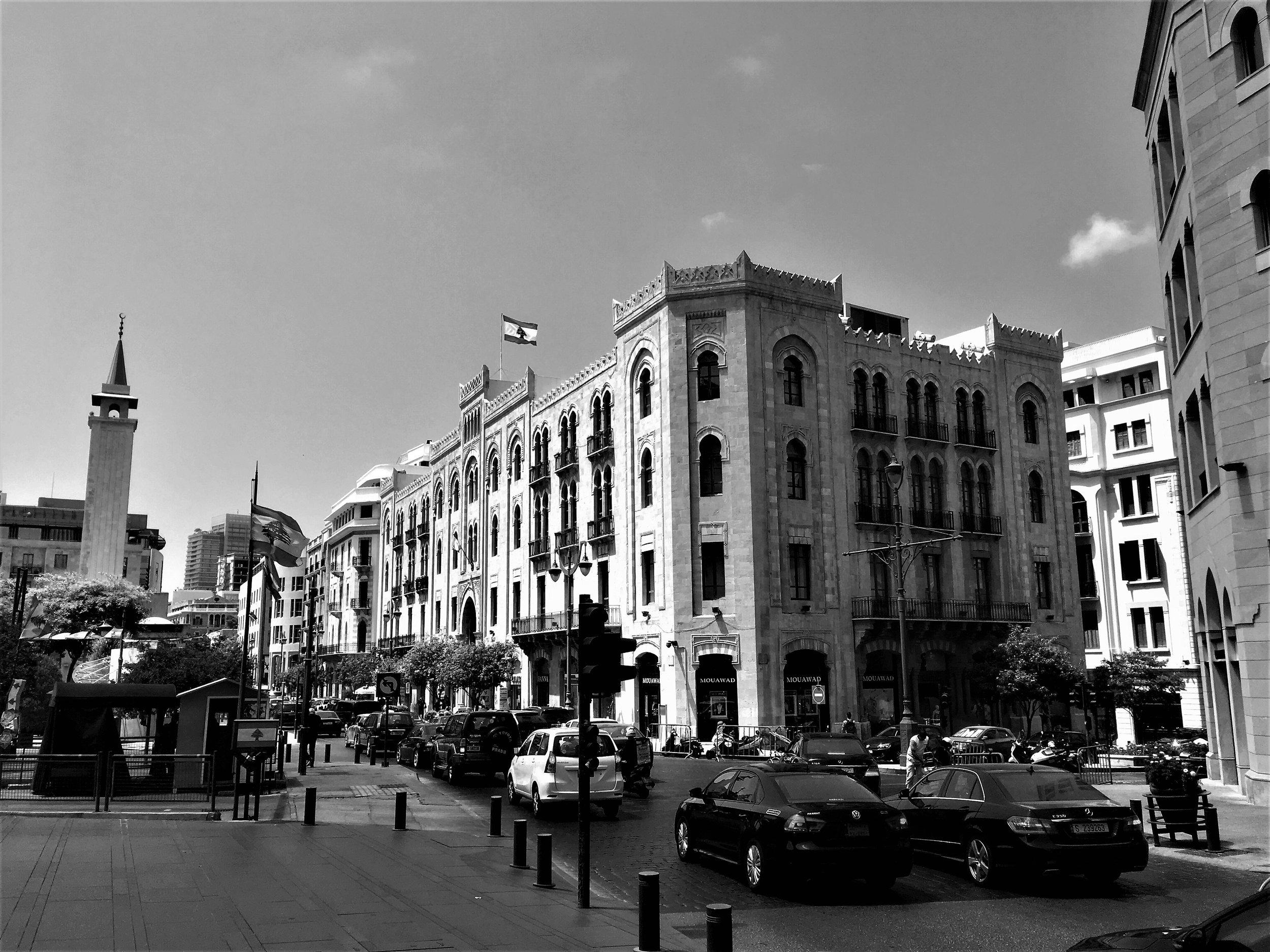 Die sehr hübsch renovierte Altstadt von Beirut.
