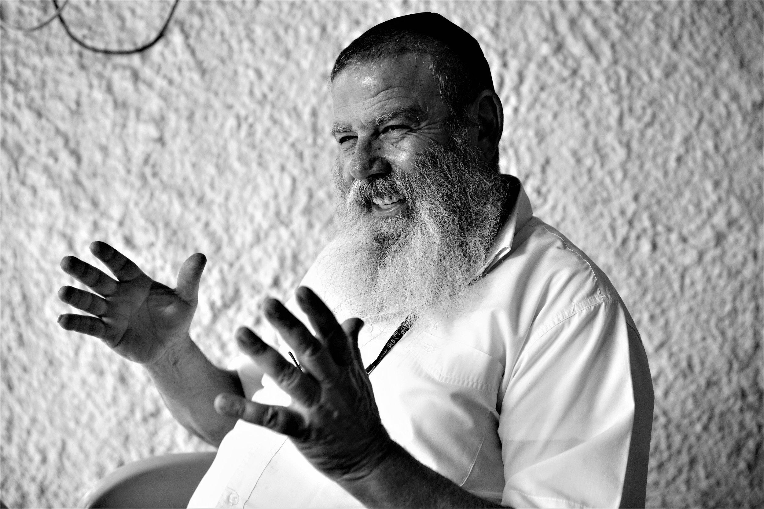 Moshe Kimche im Gespräch mit Schöner Saufen.