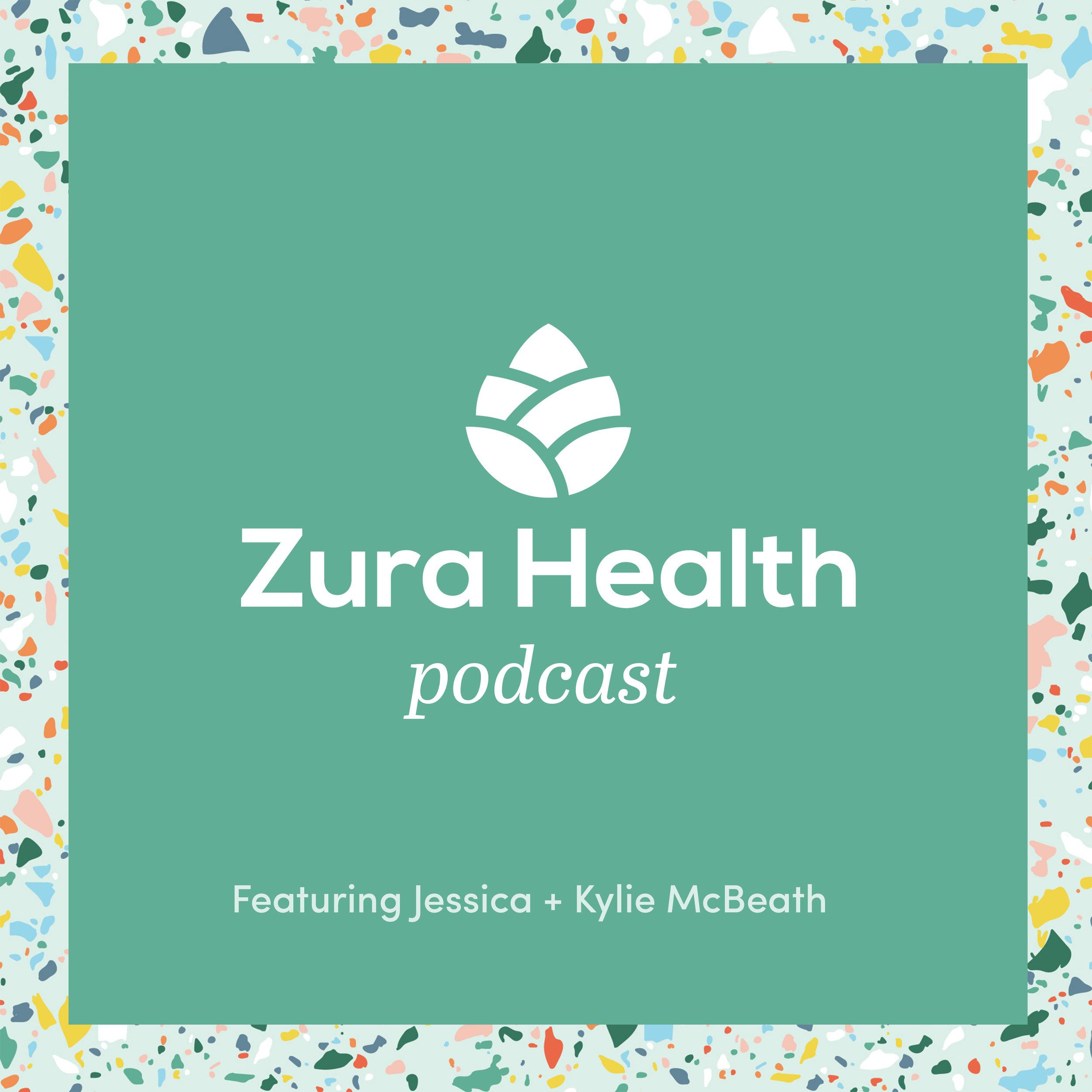 Zura Health Podcast with Jessica and Kylie McBeath