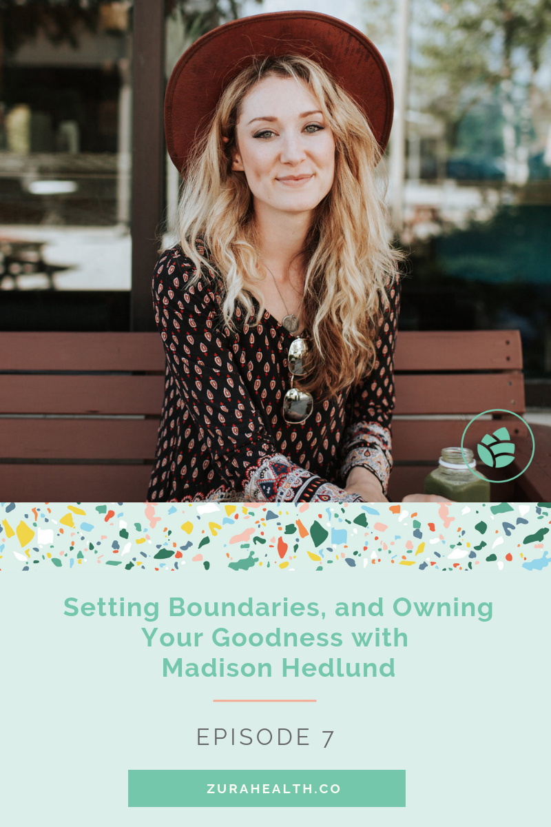 - If you're feeling drained, burnt out, or frustrated it is time to take a deeper dive into your boundary systems.In this episode, Madison Hedlund, unpacks the importance of having healthy boundaries and HOW to actually put them in place with actionable tools and wisdom.