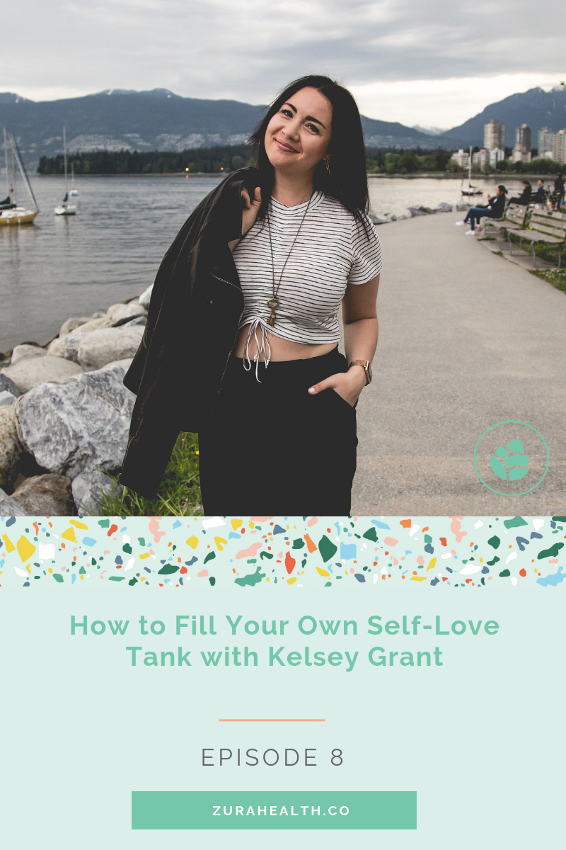 - When we turn towards and give ourselves the love we're so good at giving others we begin to fill our own self-love tanks — and in doing so we remove the responsibility off of others to do this for us.In this episode, Kelsey Grant, teaches us how to love ourselves so that we can live emotionally healthy & balanced lives.