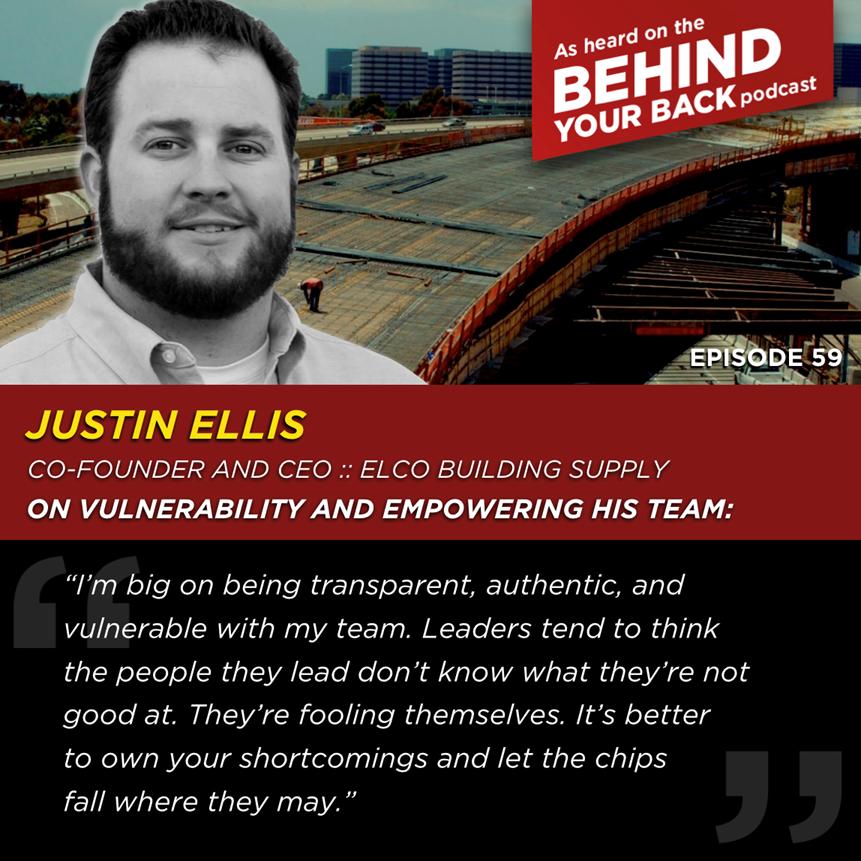 Justin Ellis - Behind Your Back Podcast