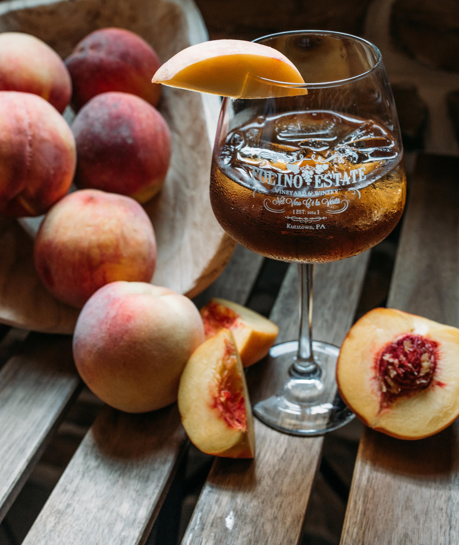 August: Peach Tea