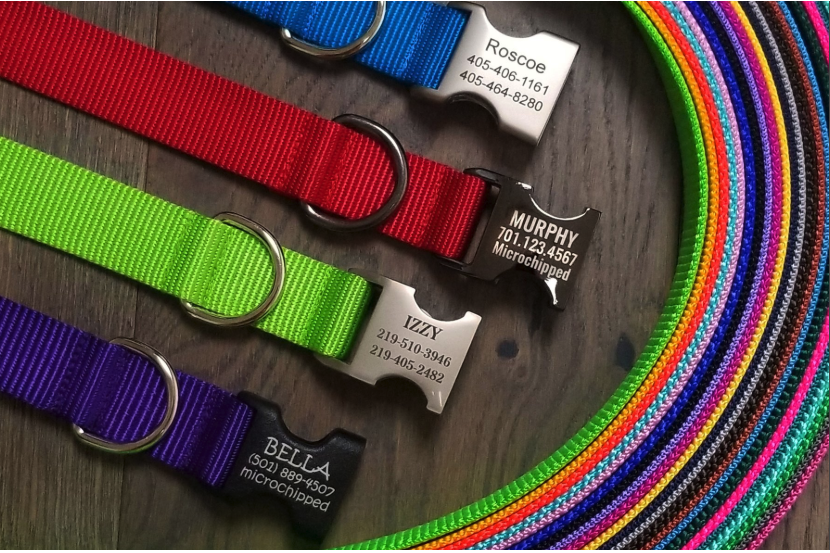 Kitchen Refresh clients Mark and Michelle Ferrell are the owners of Flying Dog Collars, an innovative dog collar manufacturer located in Fargo.
