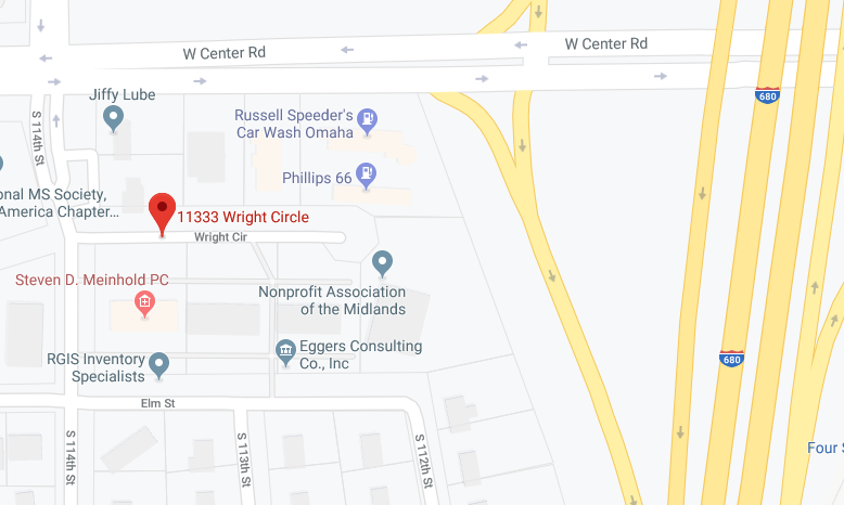 To find the Kitchen Refresh Design Studio, take the Jiffy Lube exit off of W. Center Road and onto South 114th St. Just remember that it's open by-appointment-only.