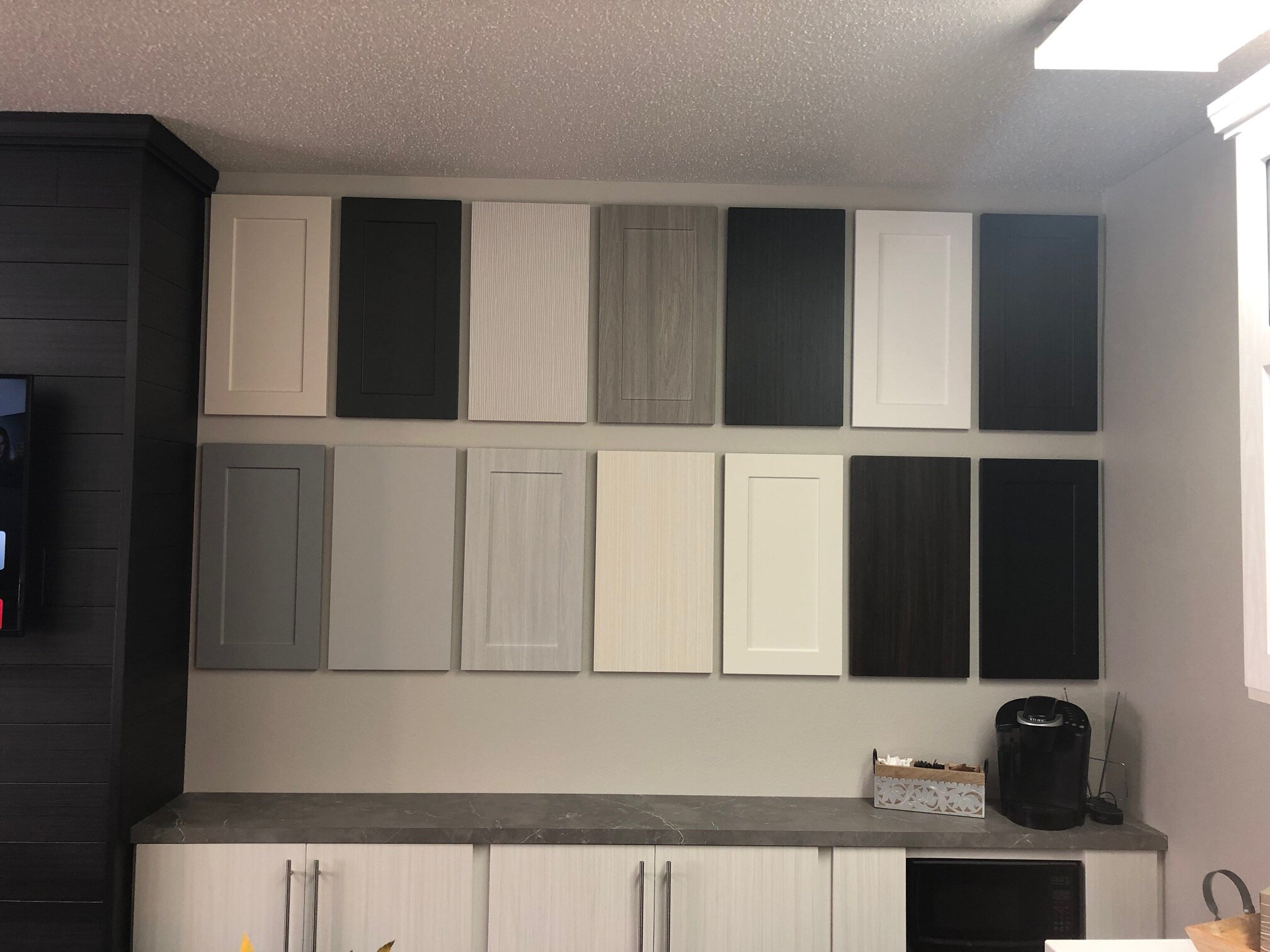 Kitchen Refresh door finish sample display.jpeg
