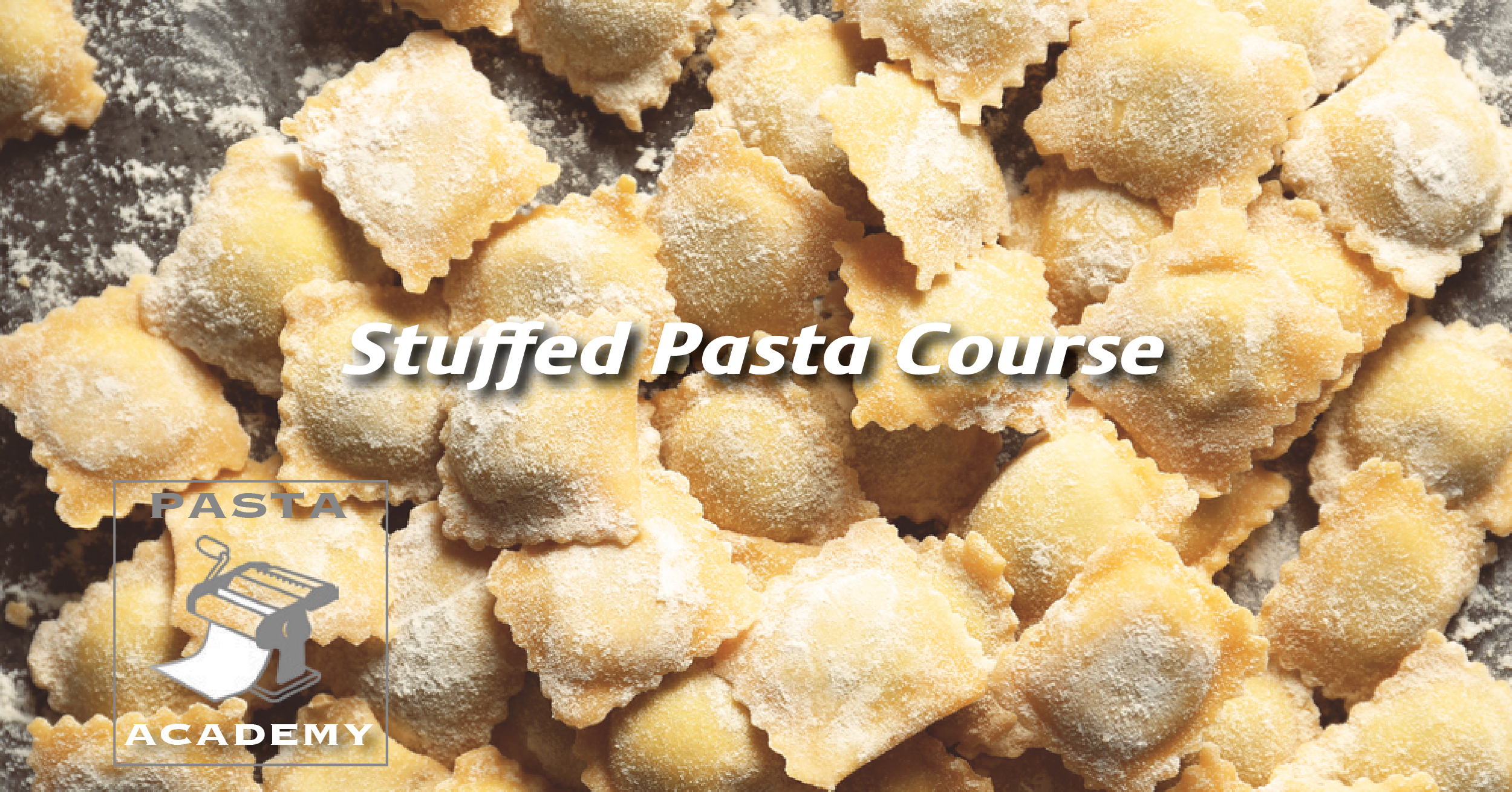 Consumer - Stuffed Pasta Course   Learn the specifics of numerous types of pasta in the category, including tortellini, ravioli, mezzaluna and other similar types. Students will explore the different types of sauces, additions and garnishes that the pastas are commonly paired with.