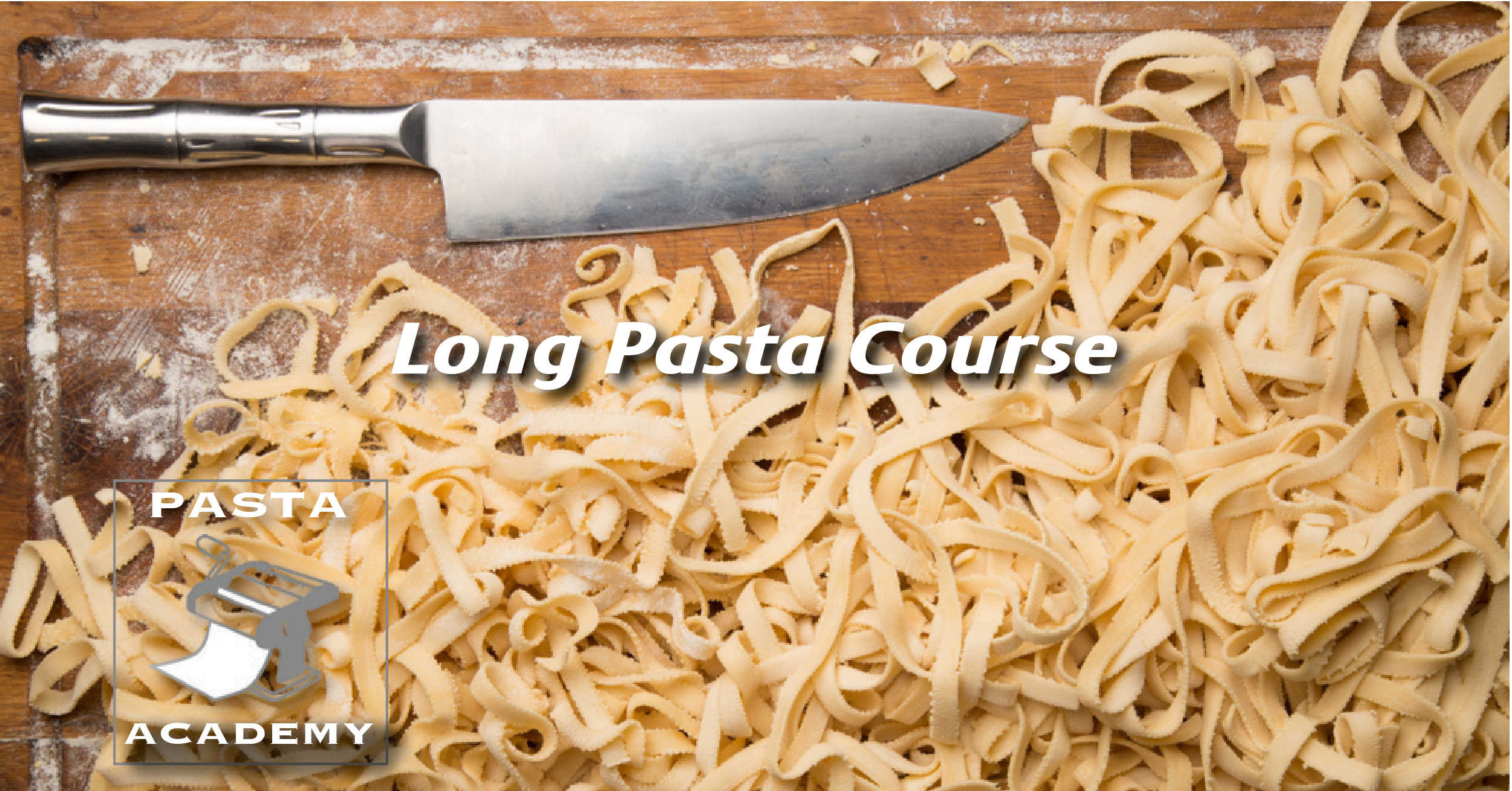 Consumer - Long Pasta Course   Learn the specifics of numerous types of pasta in the category, including spaghetti, bucatini, cappellini, linguini and other similar types. Students will explore the different types of sauces, additions and garnishes that the pastas are commonly paired with.
