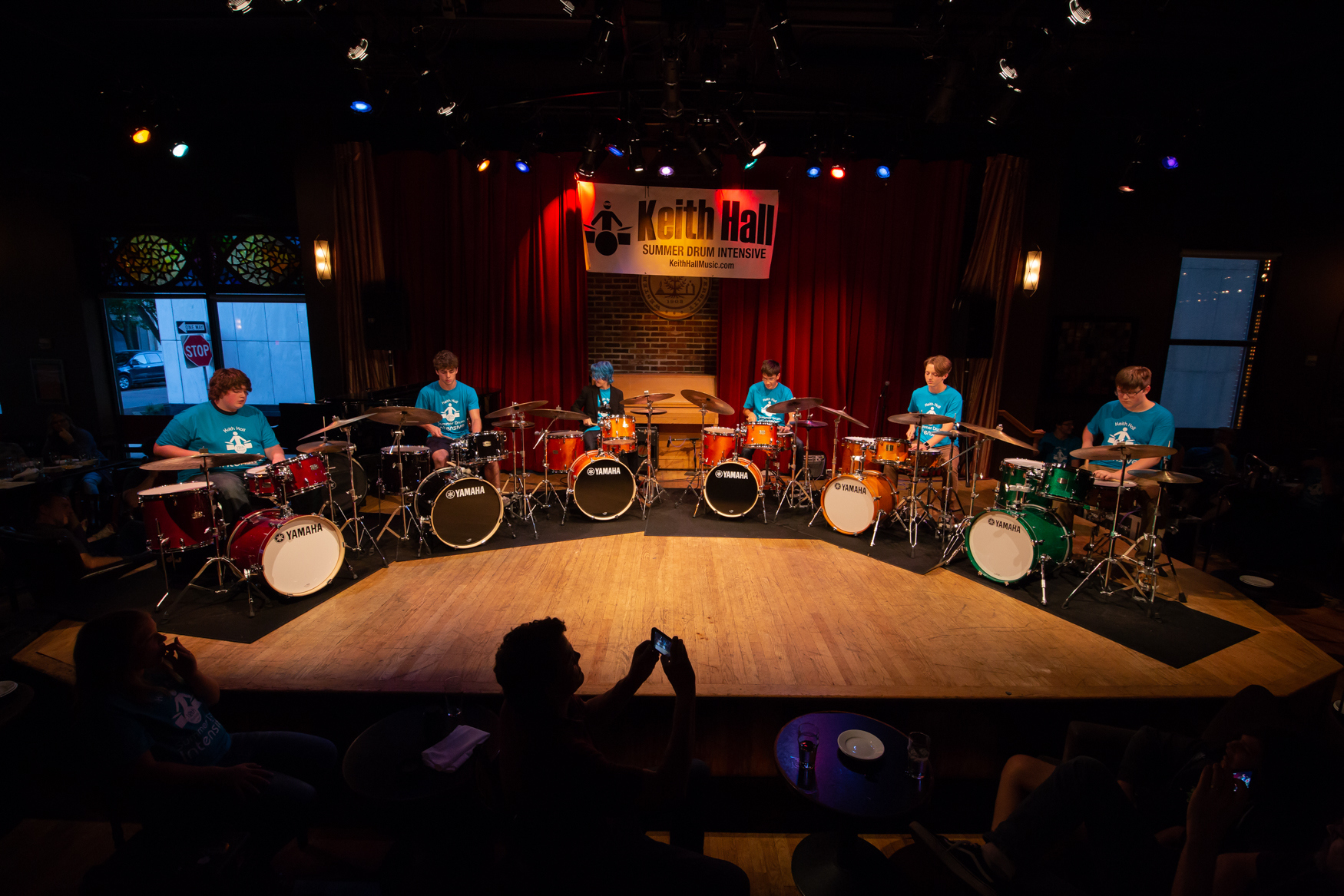 Learn more about the Keith Hall Summer Drum Intensive