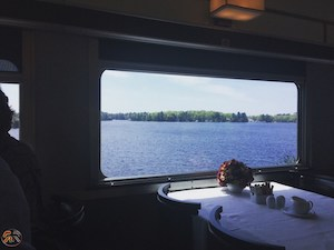 Wagon restaurant le Canadien