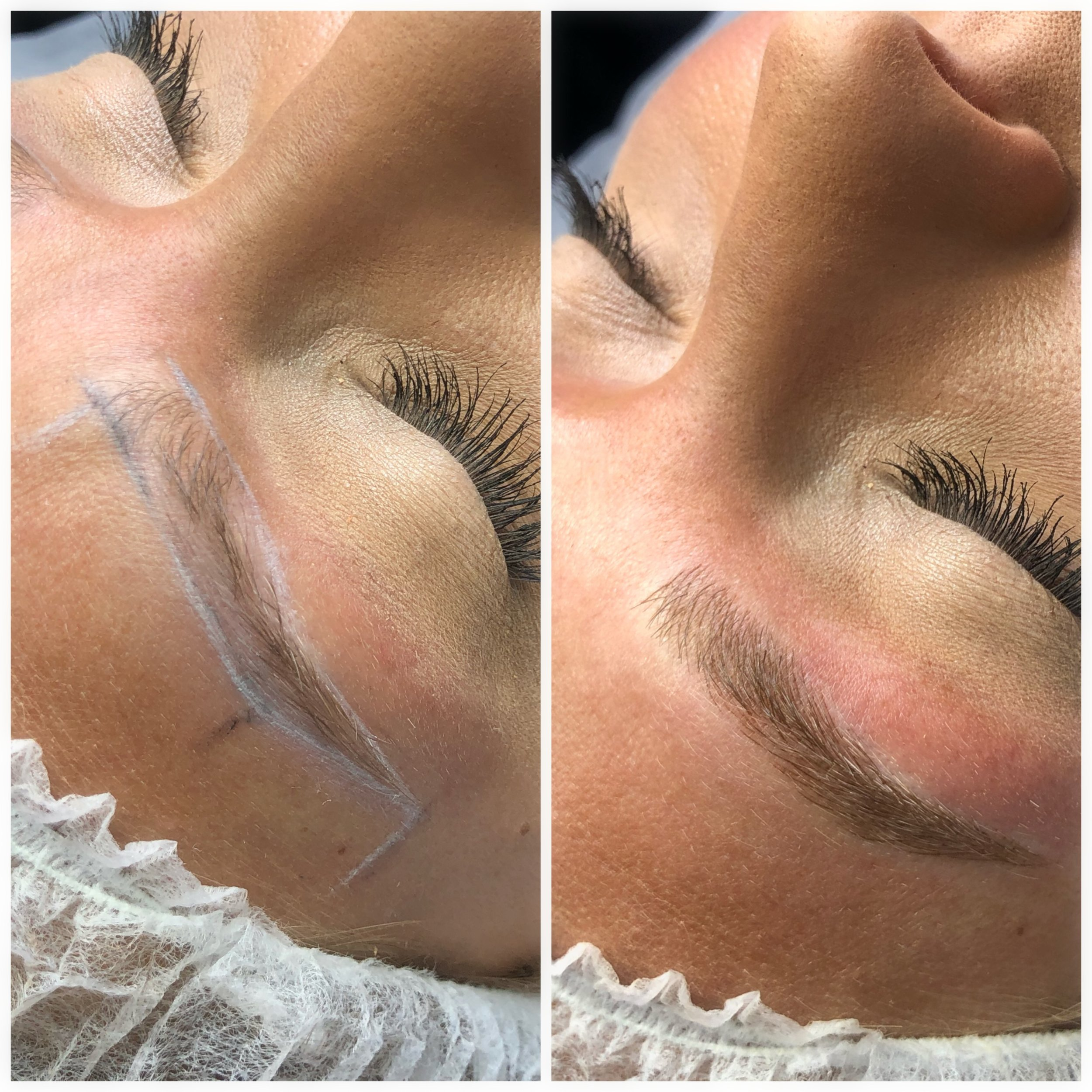 Outline & Microbladed