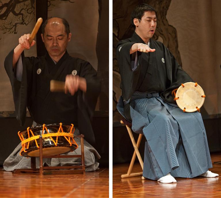 Pagoda Hayashi (Instrumentalists).Photography by Clive Barda