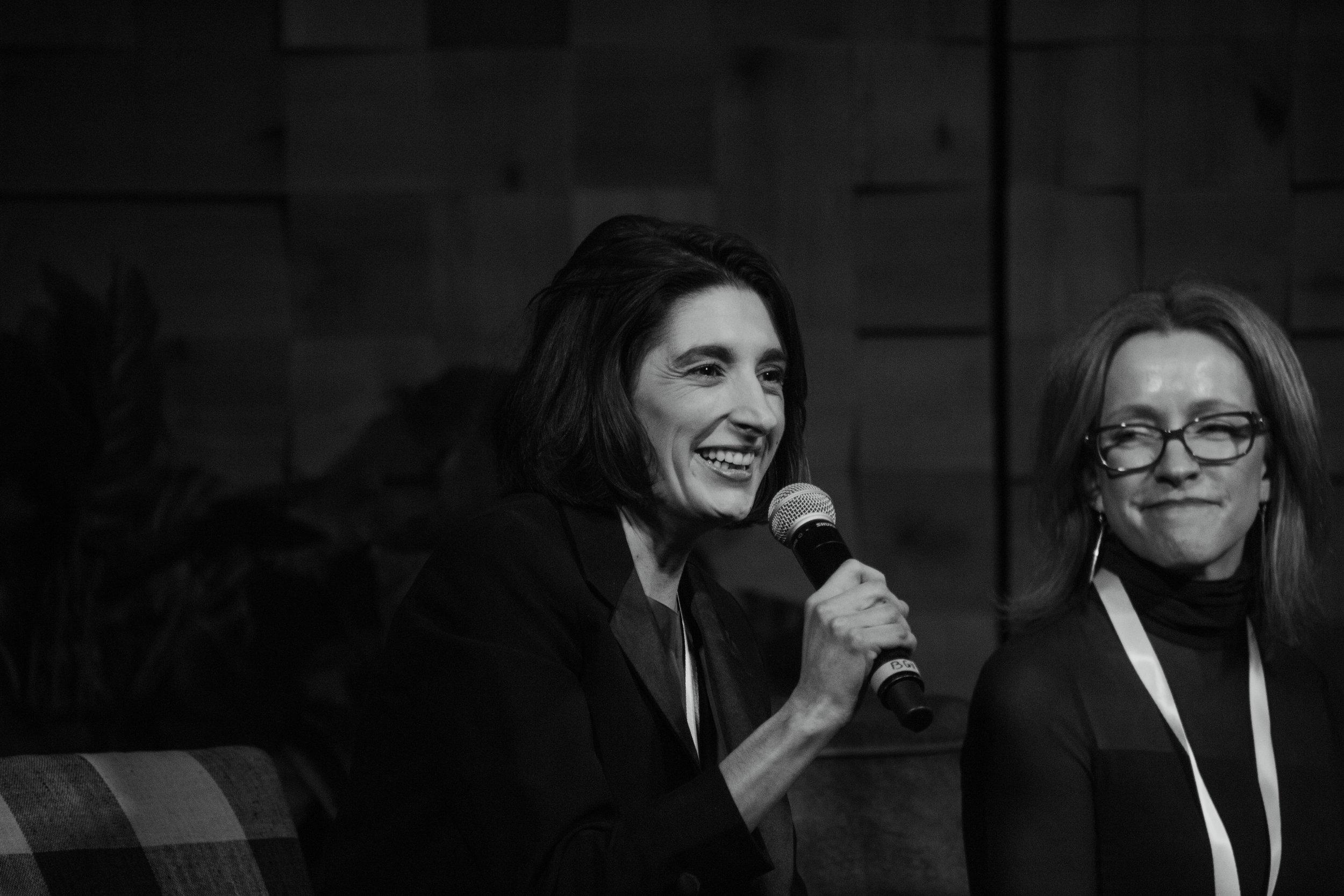 Marissa Ross and Christy Canterbury