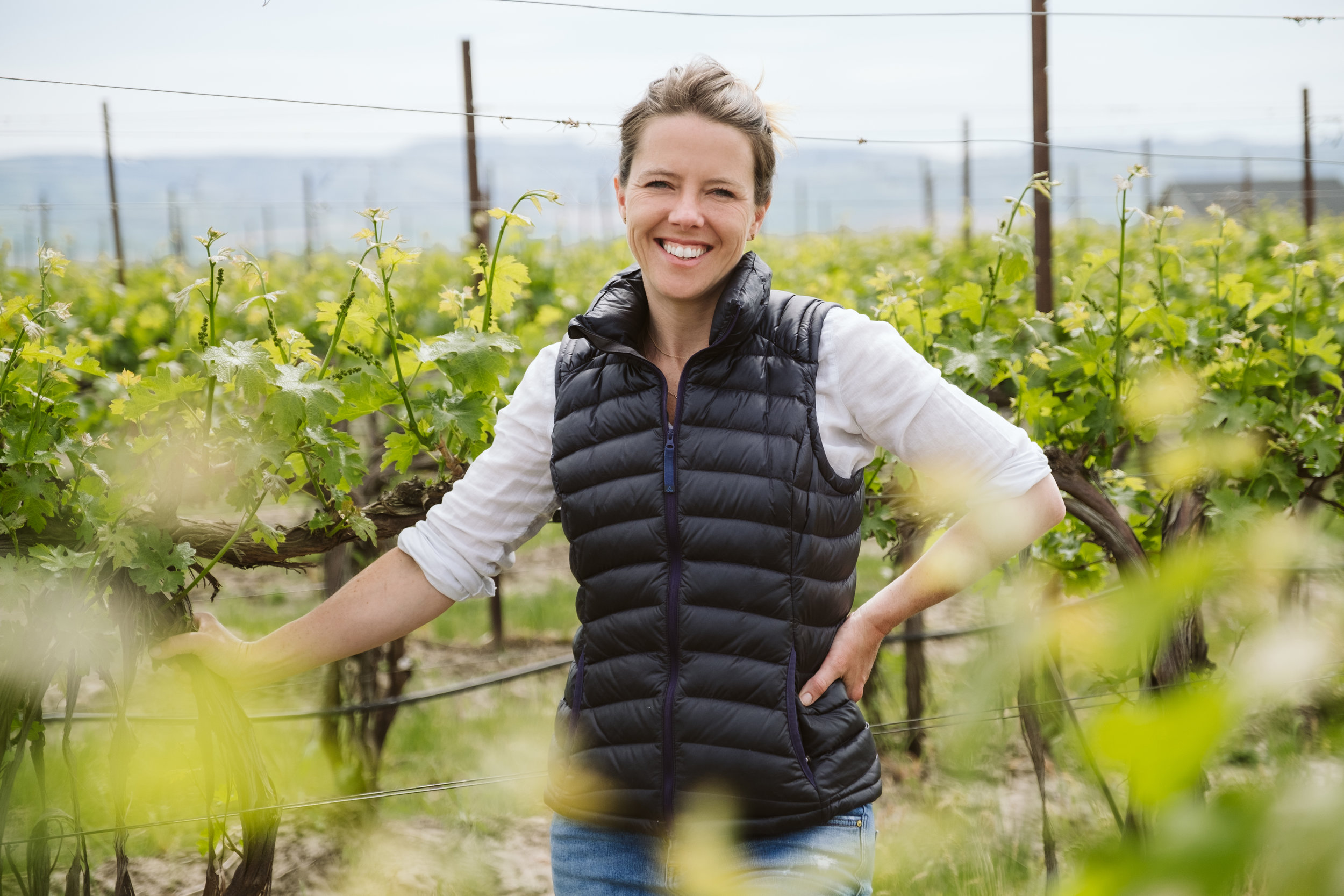 ASHLEY TROUT, 8.2.19 - Ashley has been working in wine since her freshman year of college. Today she owns a winery, Brook & Bull in Washington's Walla Walla Valley. She also started Vital Wines, a non-profit to support a free healthcare clinic in the region.
