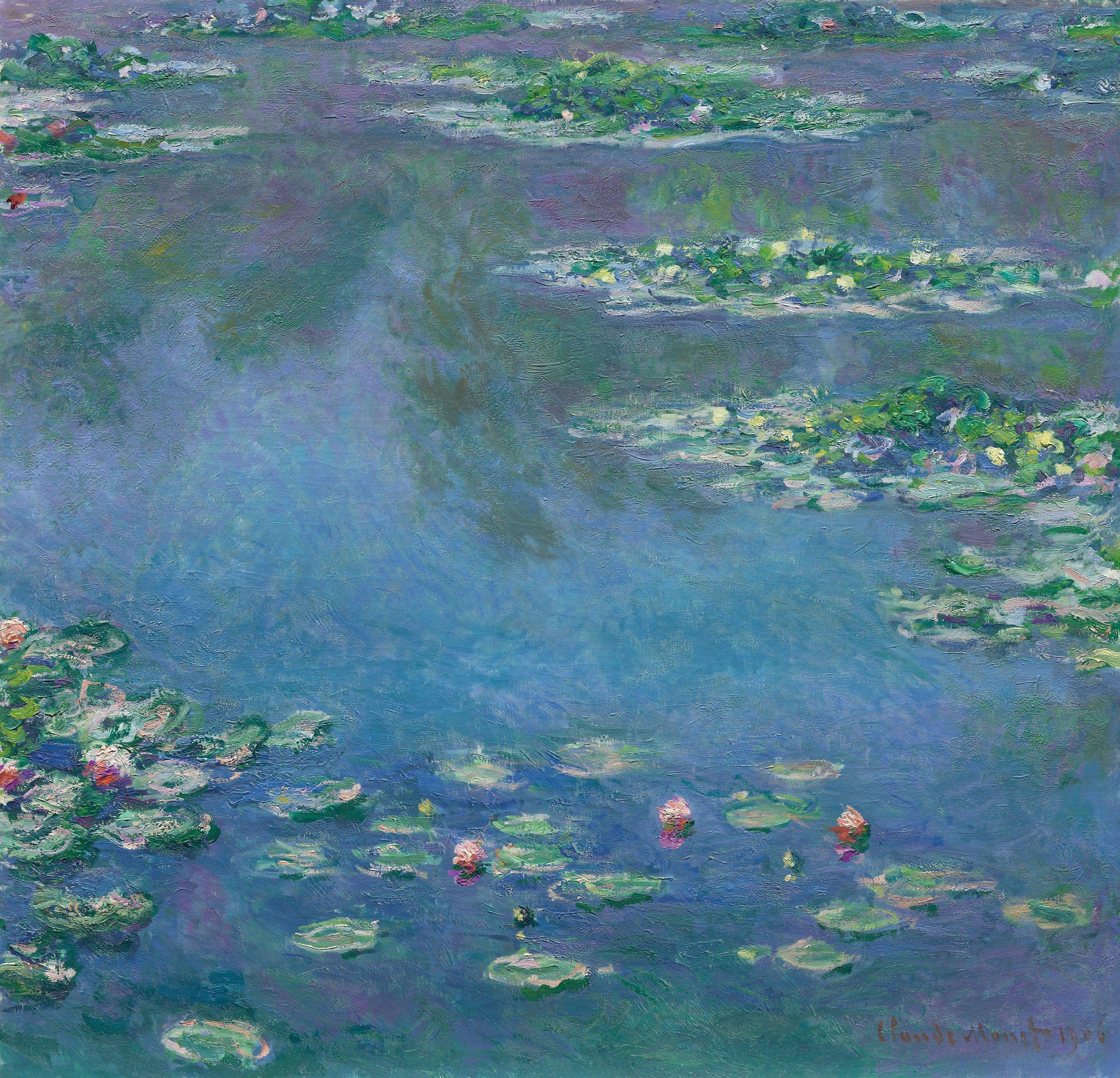 Water Lilies (1906)  Claude Monet