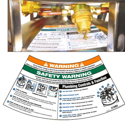 dewar operation labels