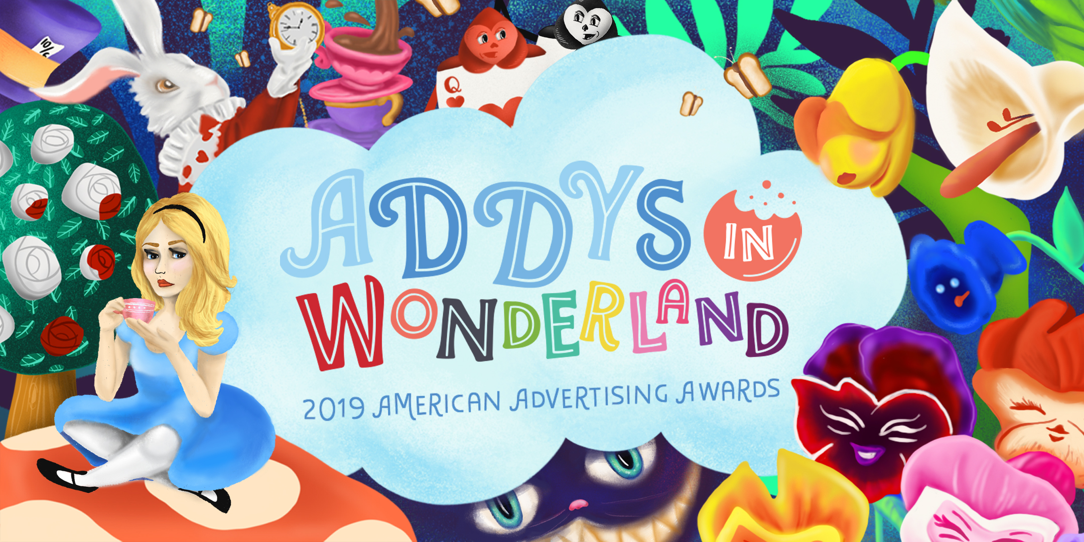 Custom Illustrations for the New Orleans Addy Awards