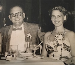 Edwin and Rachel vacationing in Havana, Cuba in 1956 about a year before Eddie was born. -