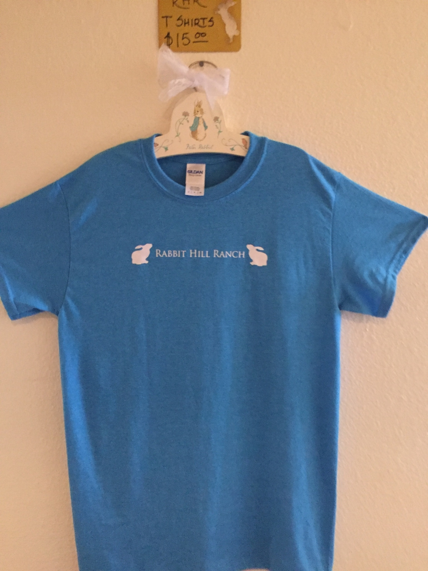 Shirts can be custom ordered, just let us know what you need and when.