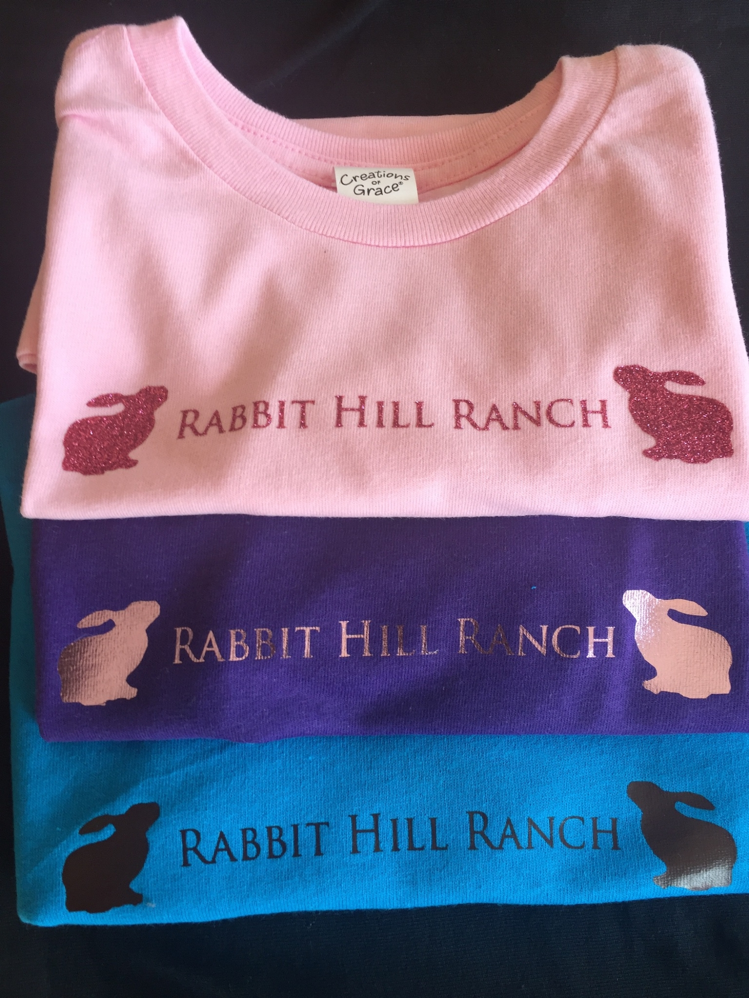 RHR shirts for all sizes
