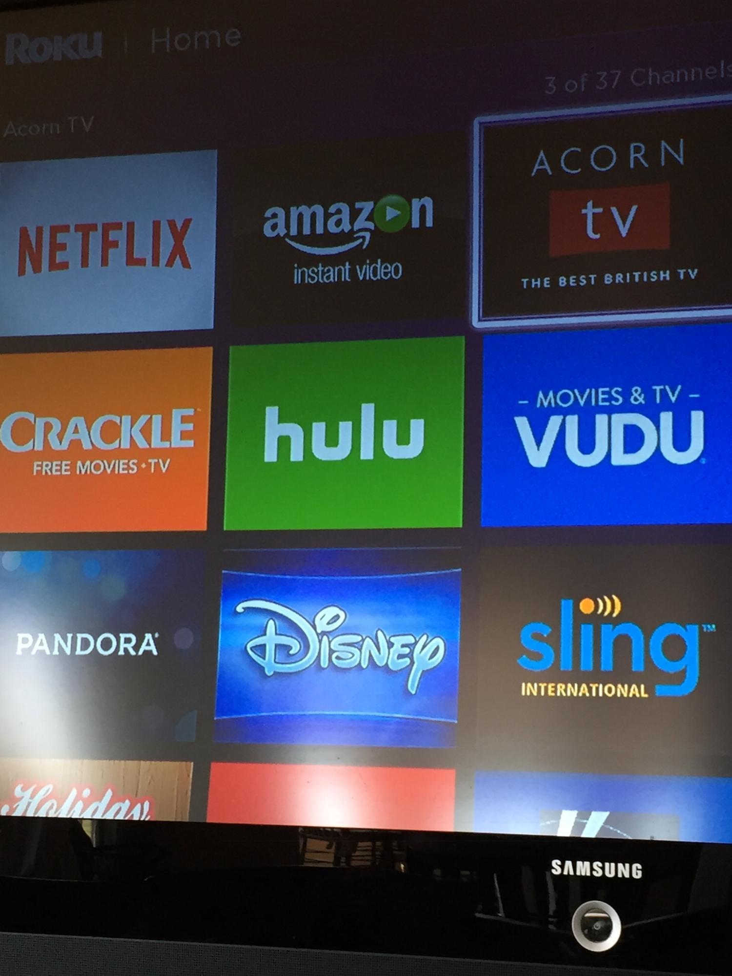 TV options