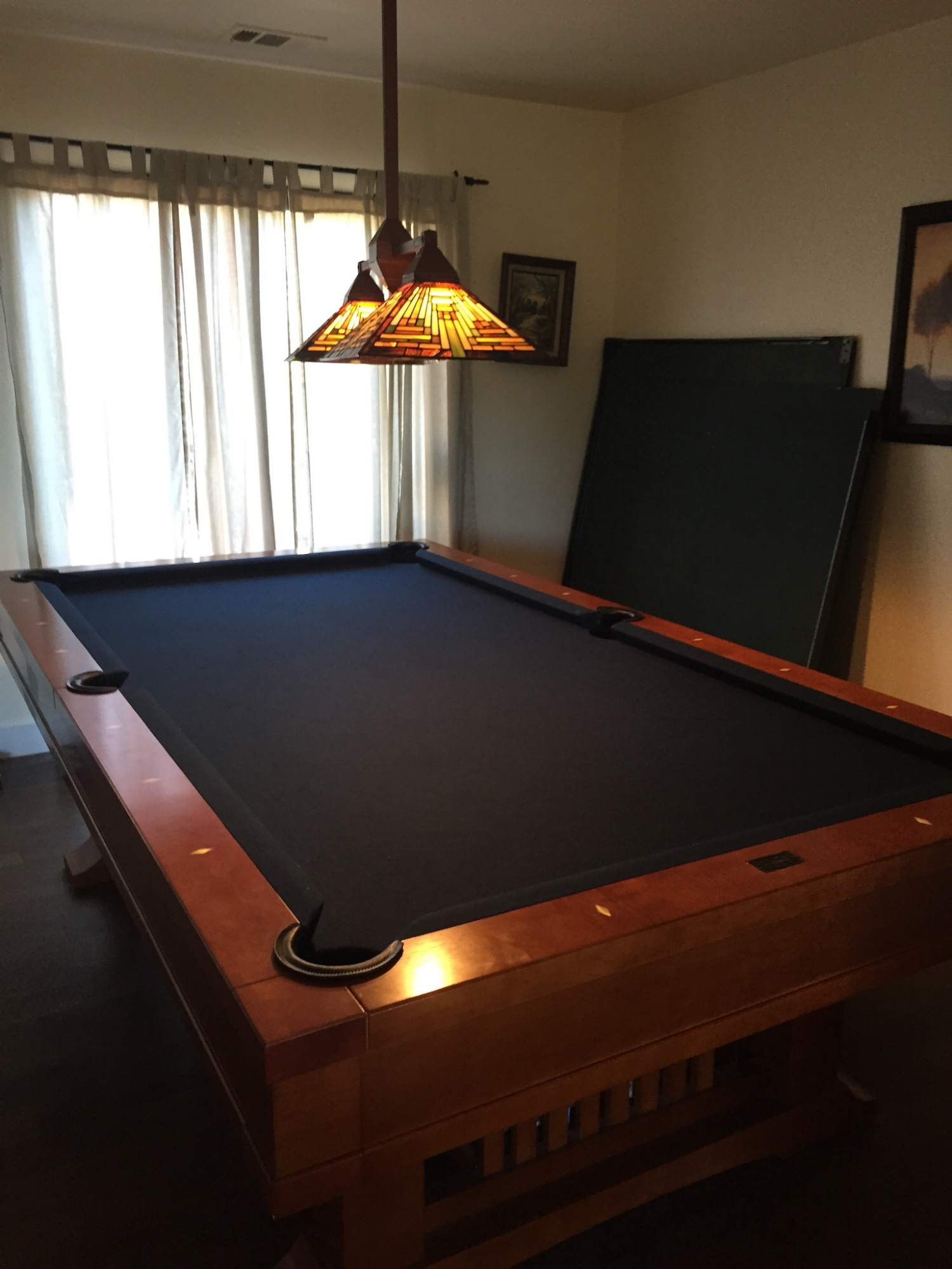 pool and ping pong table, multitudes of board games