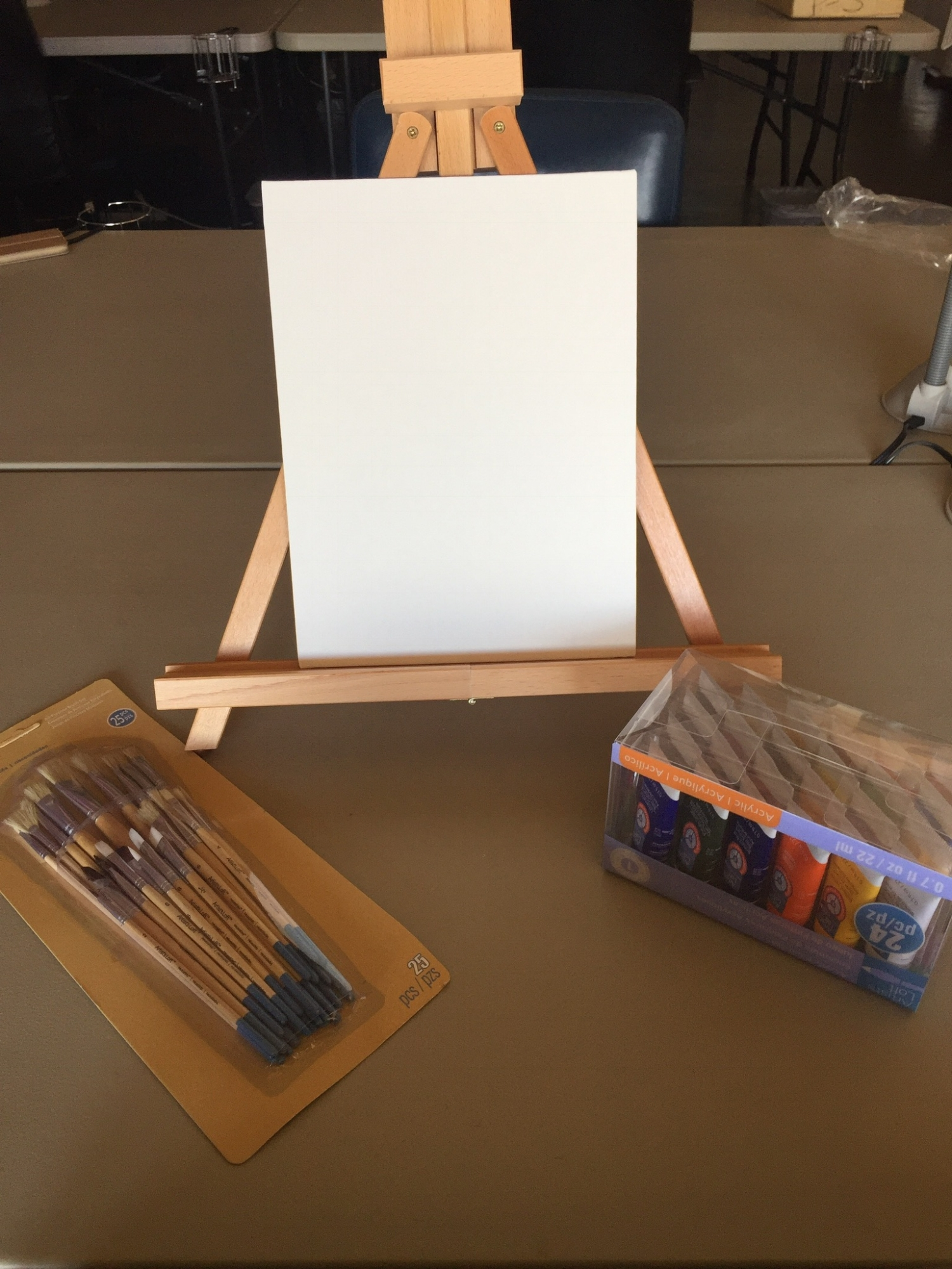 Sample Painting set up