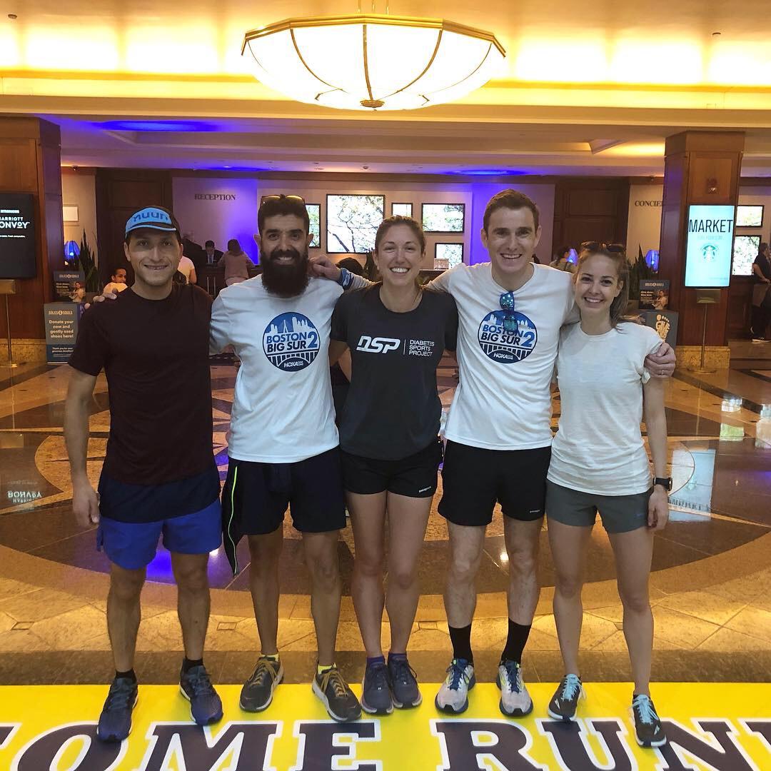 Boston2BigSur marathon challenge crew!