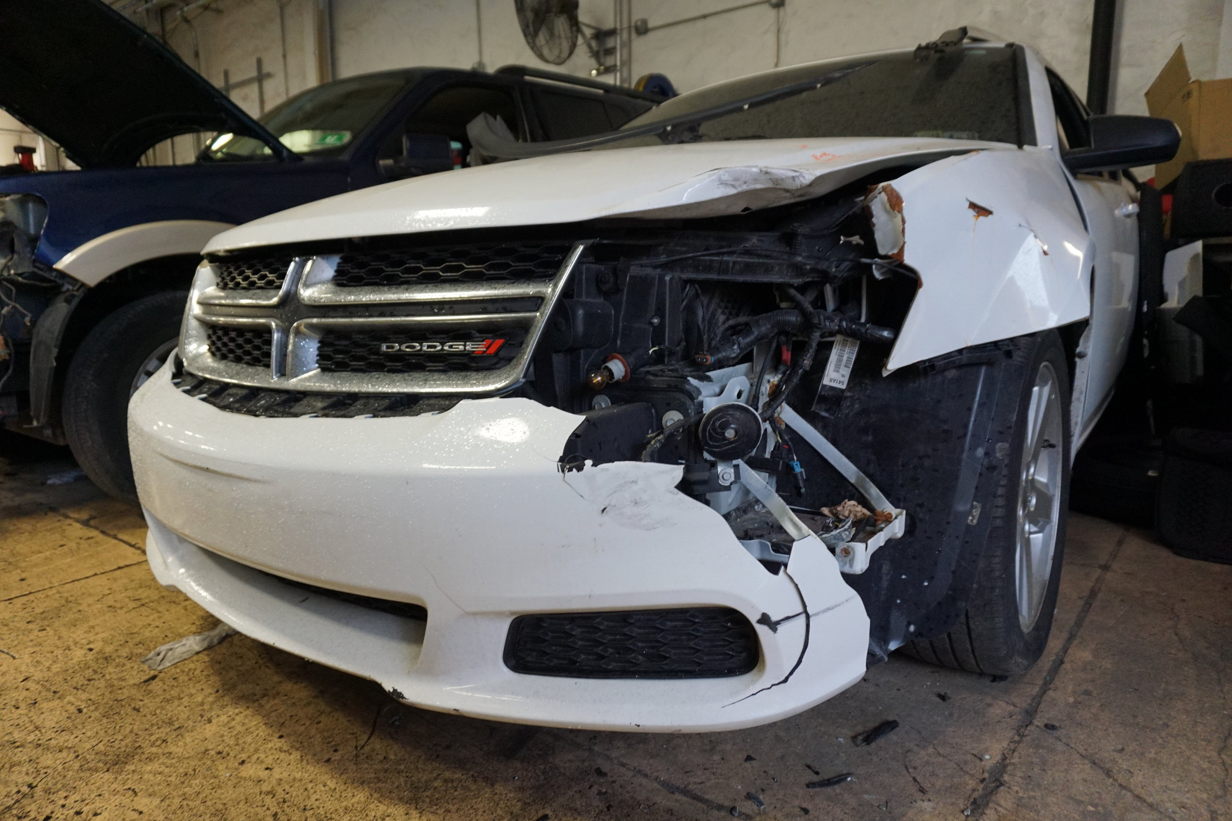 Highly trained auto body technicians -